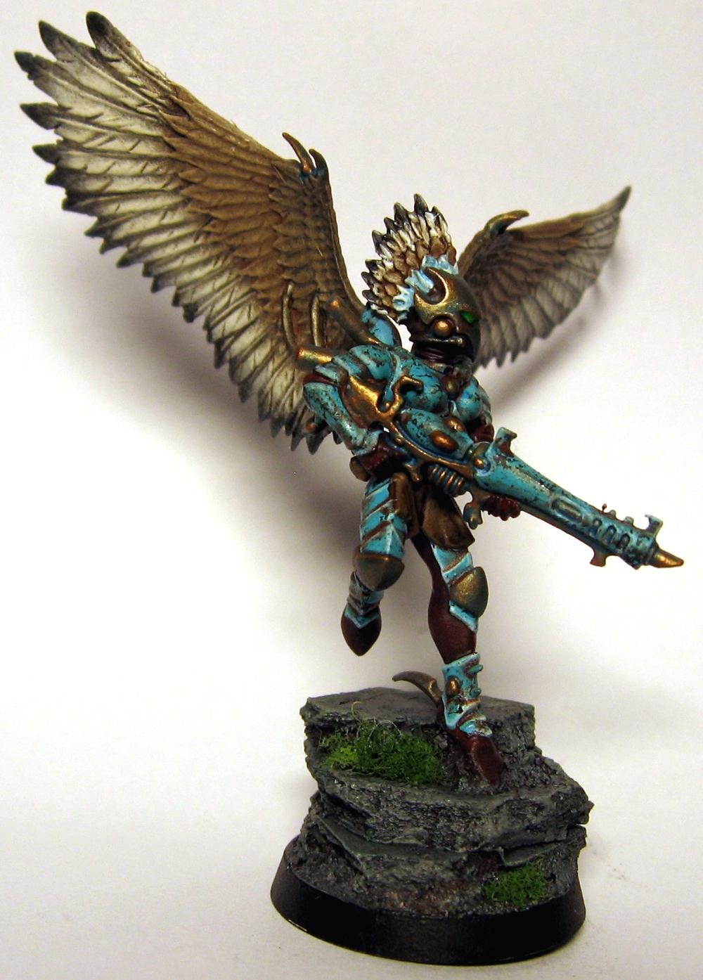 Dark Eldar, Scourge, Turqouise, Winged