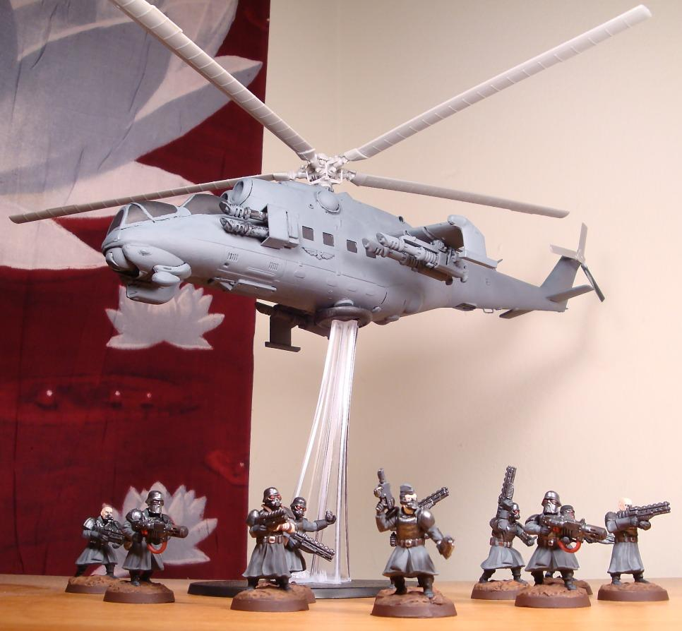 Greatcoats, Hind, Imperial Guard, Revell, Vendetta, Wargames Factory, Warhammer 40,000