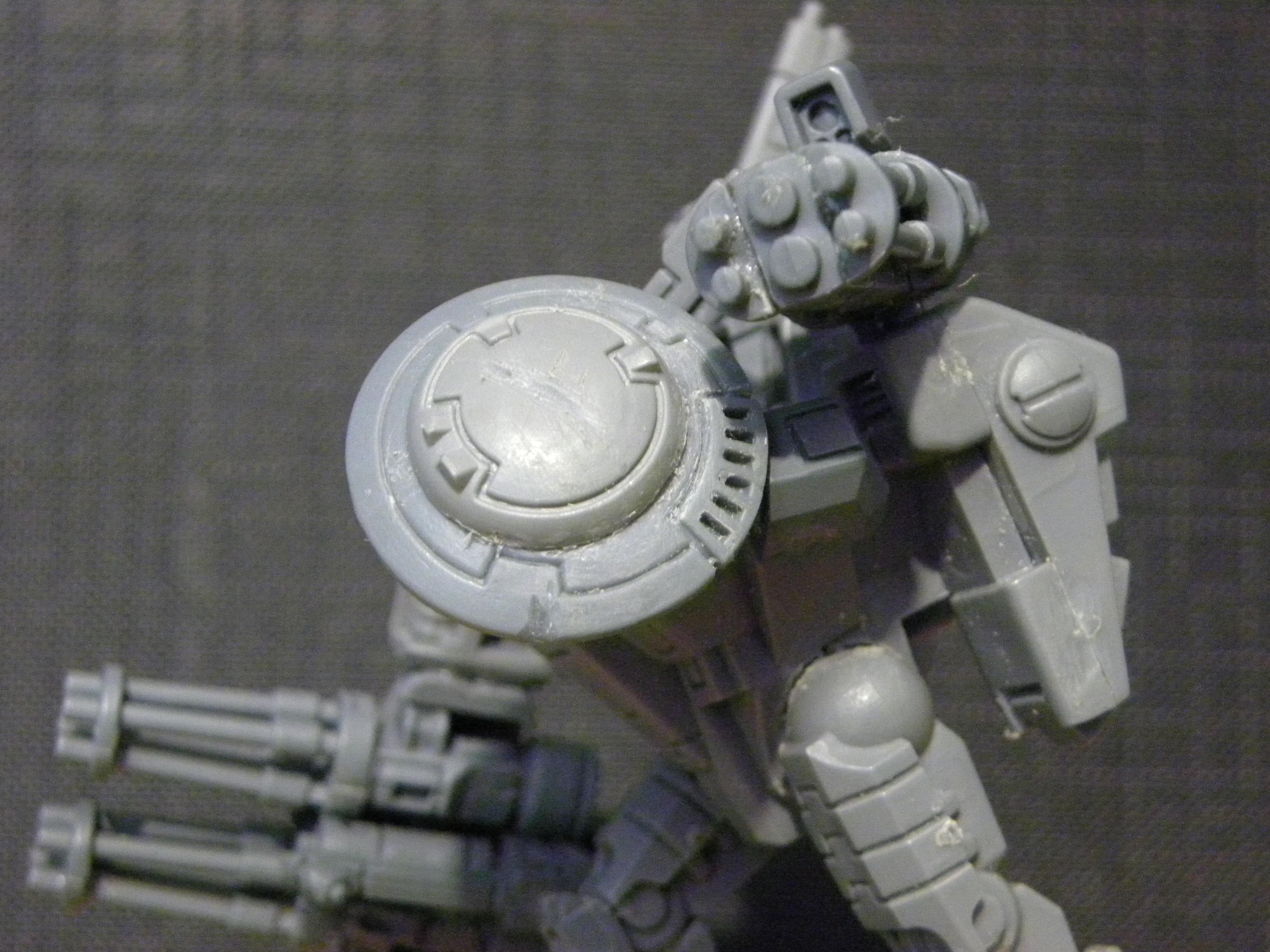 Army, Battle, Conversion, Crisis Battlesuit, Detail, Suit, Tau, Warhammer 40,000, Work In Progress, XV8