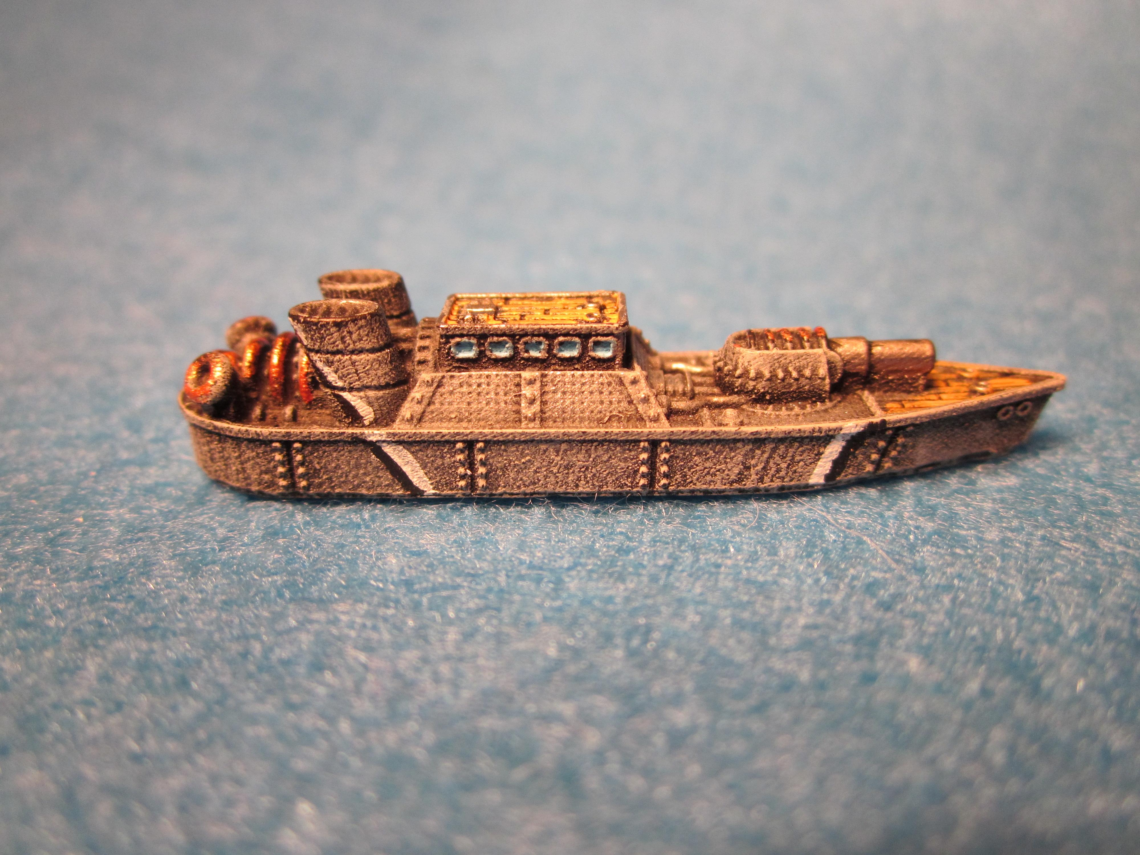 Dystopican Wars, Frigates, Prussian