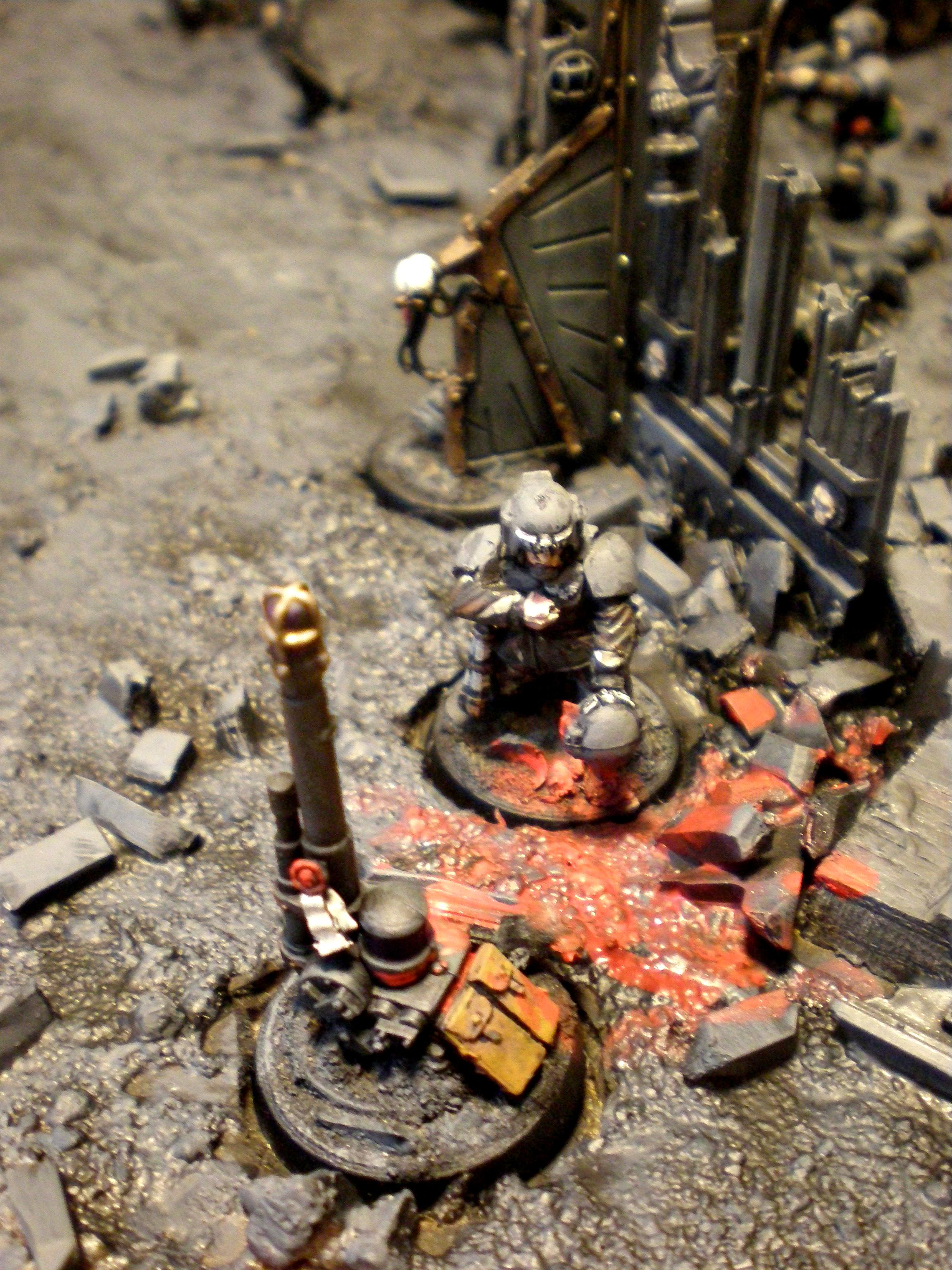 Cities Of Death, Diorama, Imperial Guard, Ruins, Veteran
