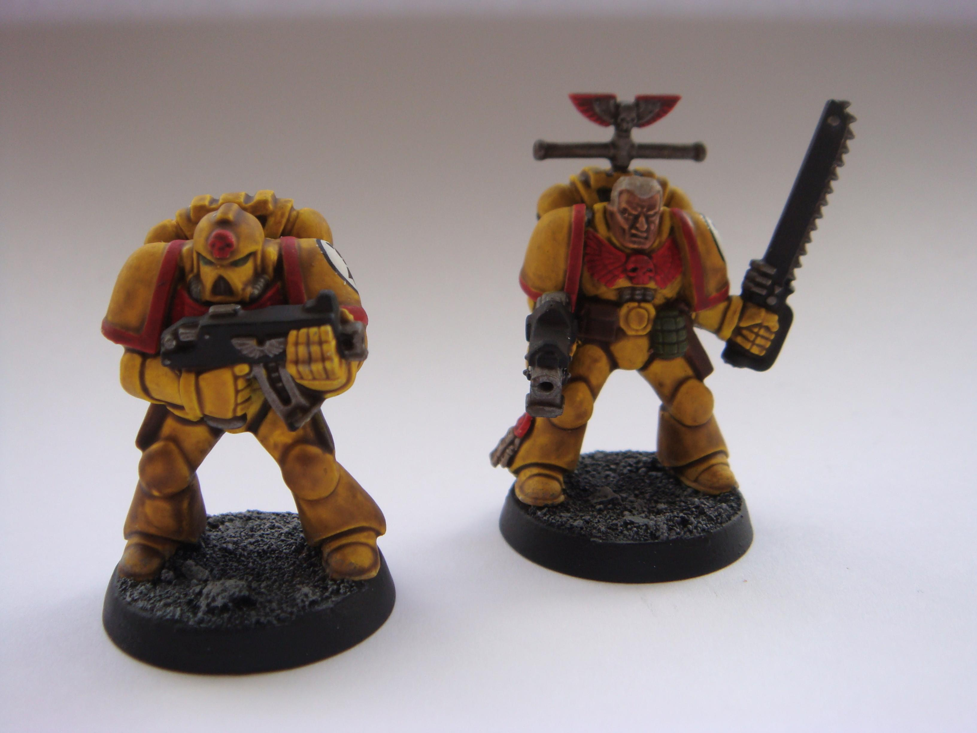 Dorn, Fist, Fists, Imperial, Imperial Fists, Red, Shading, Space Marines, Yellow