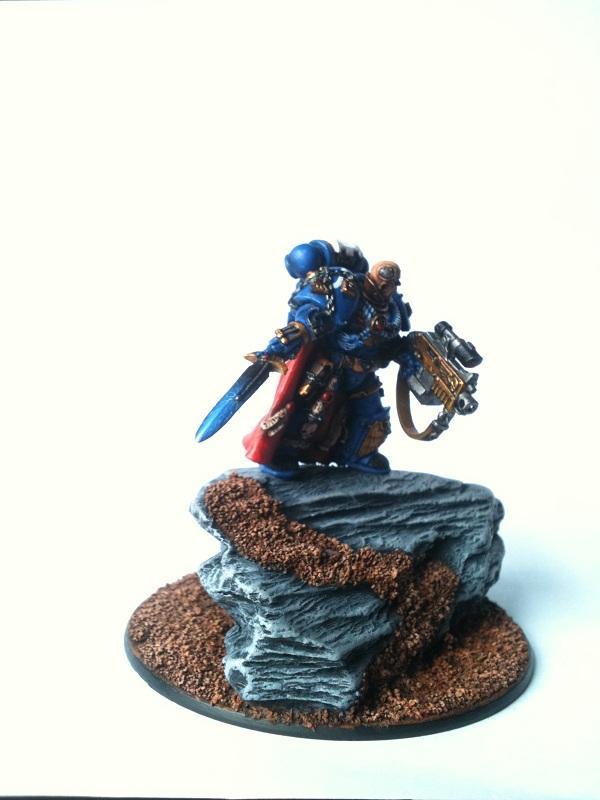 Chapter Master, Master Of Recruits, Space Marines, Ultramarines, Warhammer 40,000