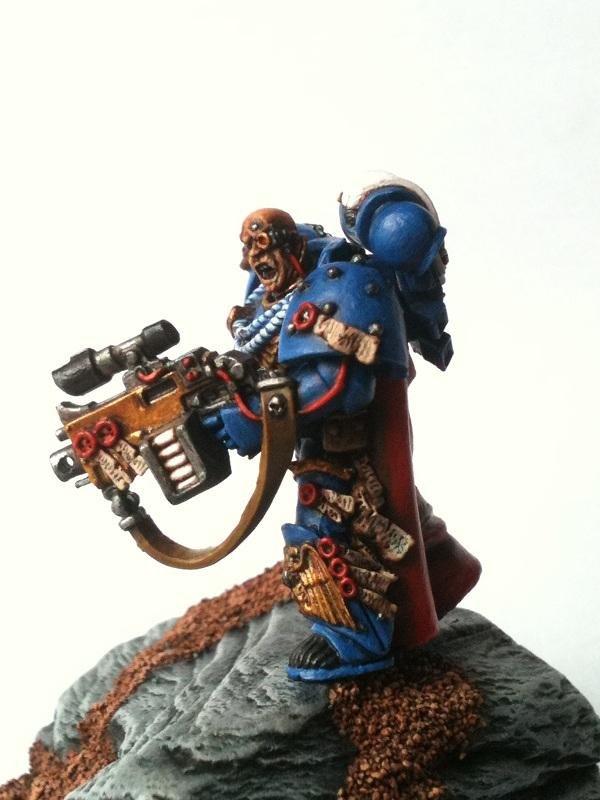 Chapter Master, Master Of Recruits, Space Marines, Ultramarines, Warhammer 40,000