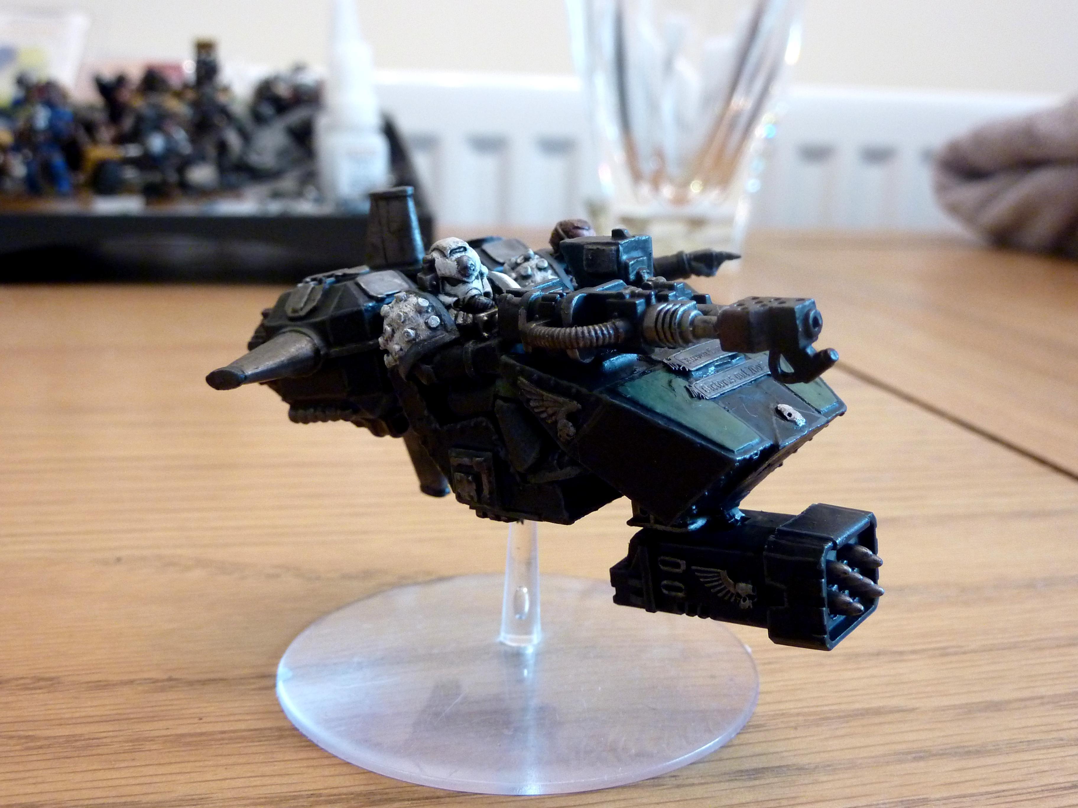 Land Speeder, Raven Guard, Rogue Trader Land Speeder, Rt