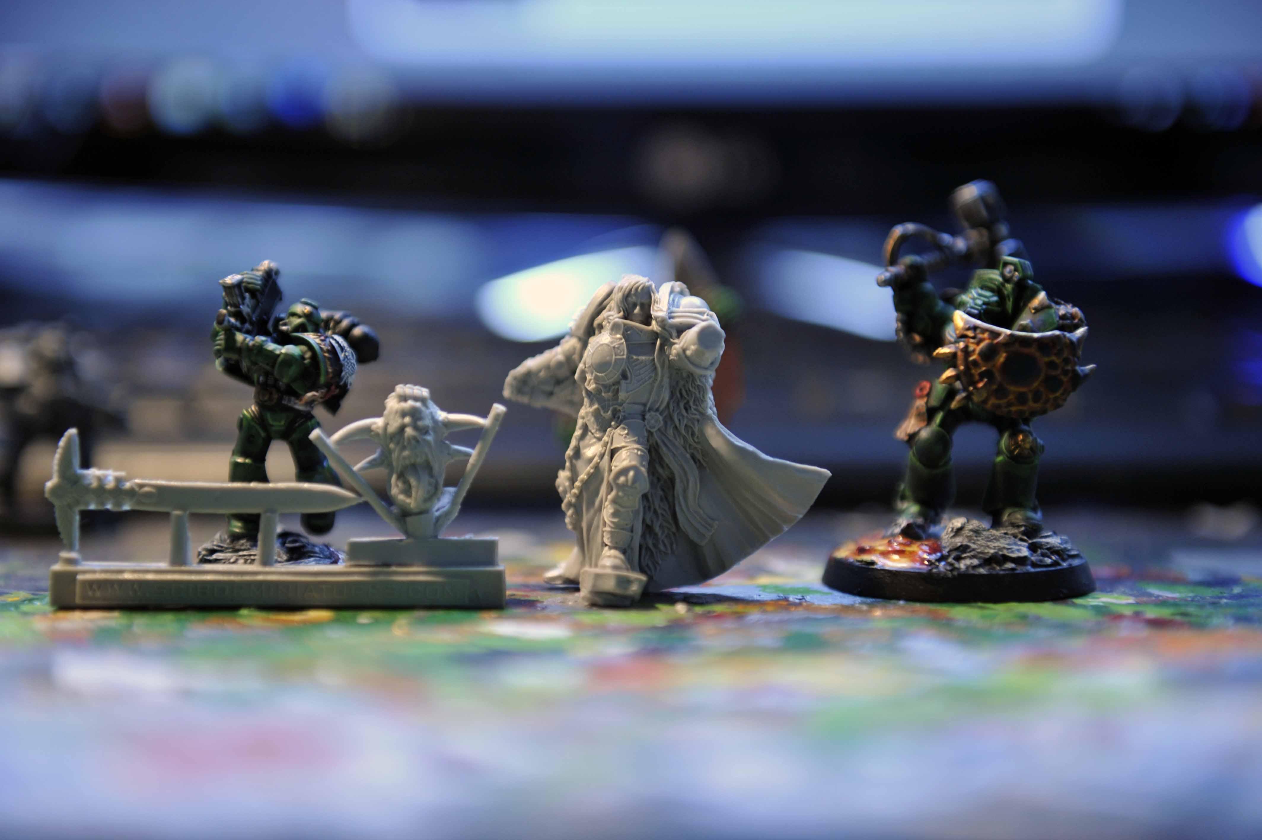 Adeptus, Custodes, Grey, Inquisitor, Knights, Miniature, Scibor, Unboxed