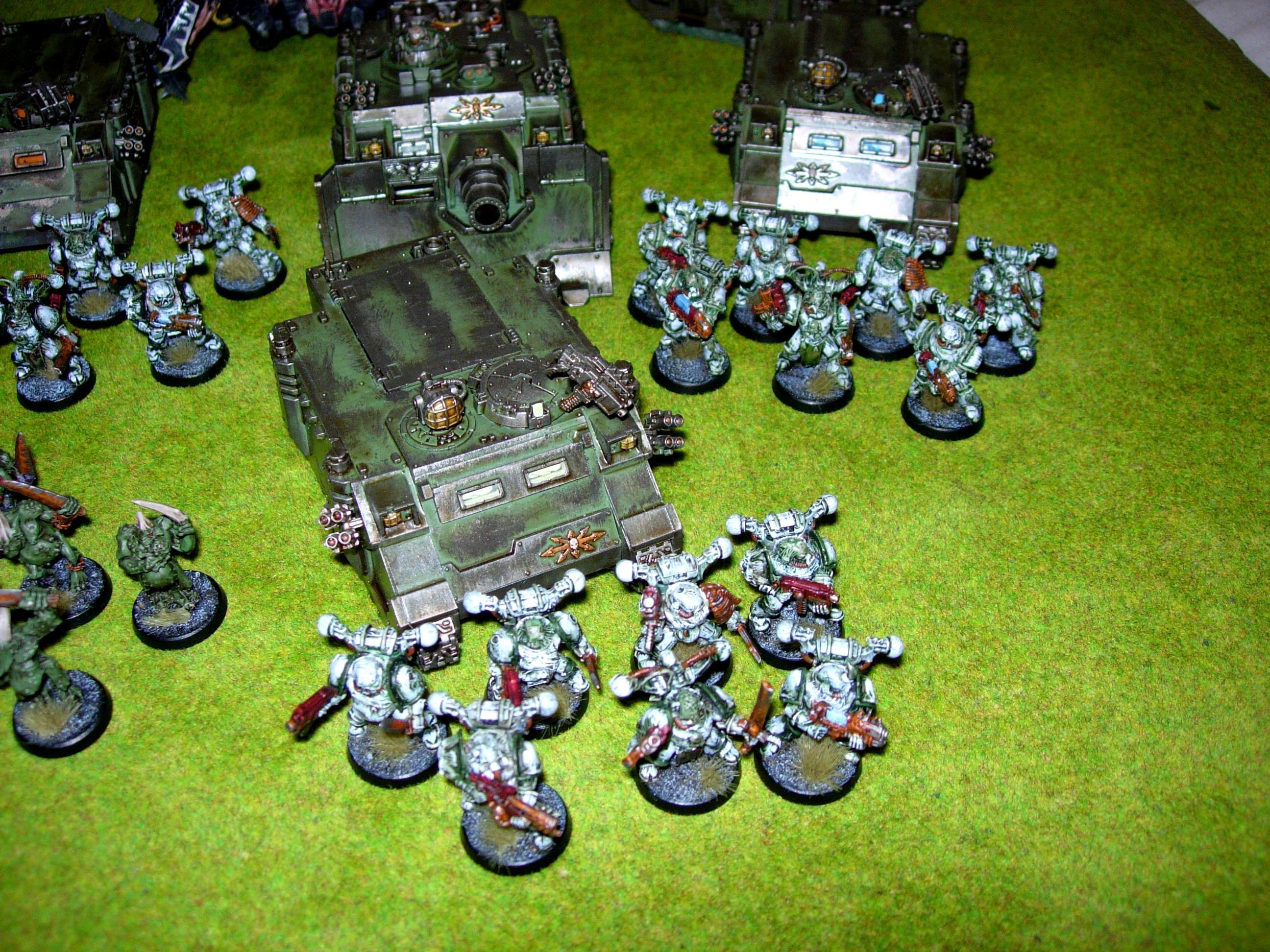 Chaos, Chaos Space Marines, Plague Marines