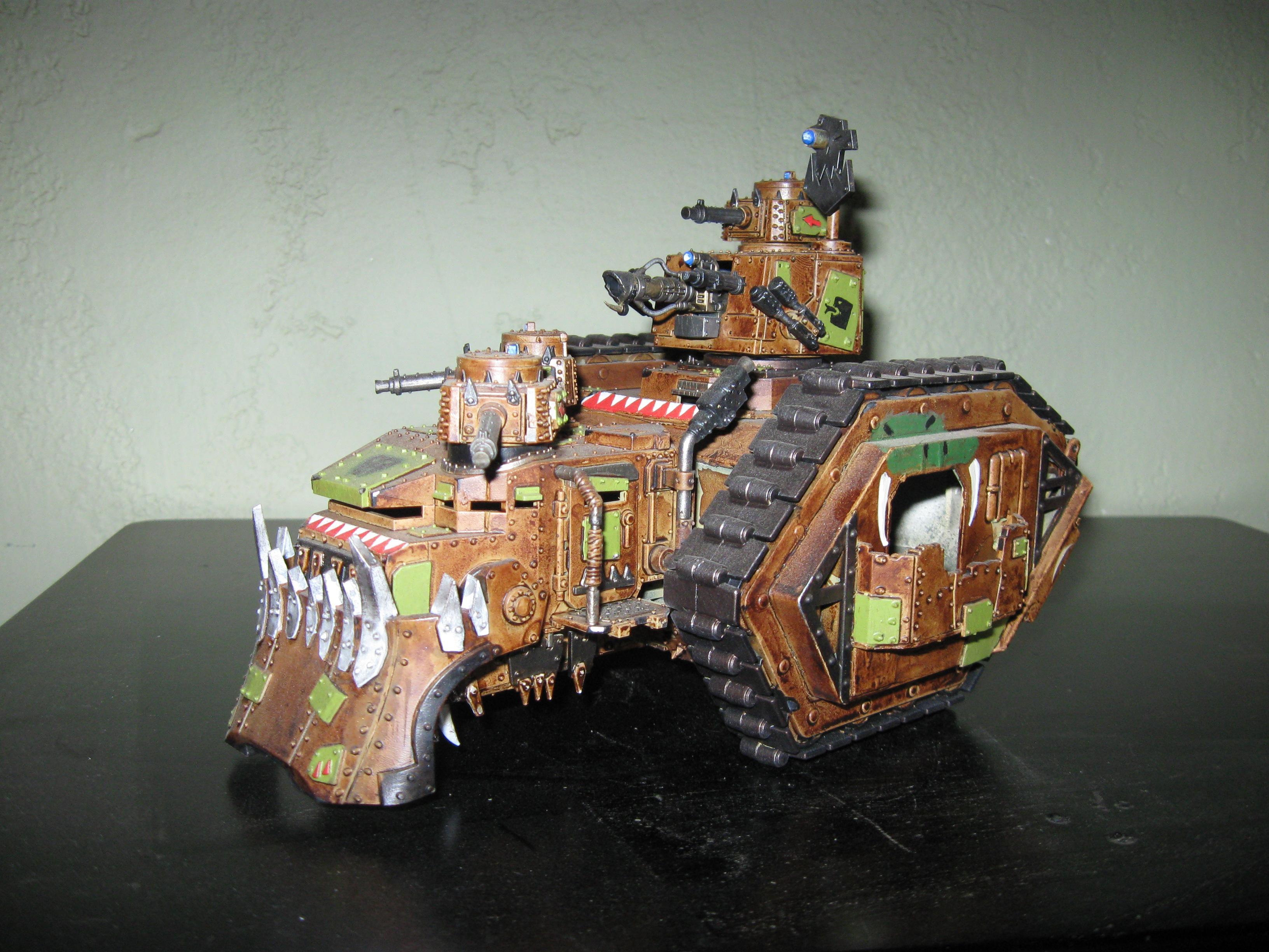 Battlewagon, Conversion, Orks, Warhammer 40,000