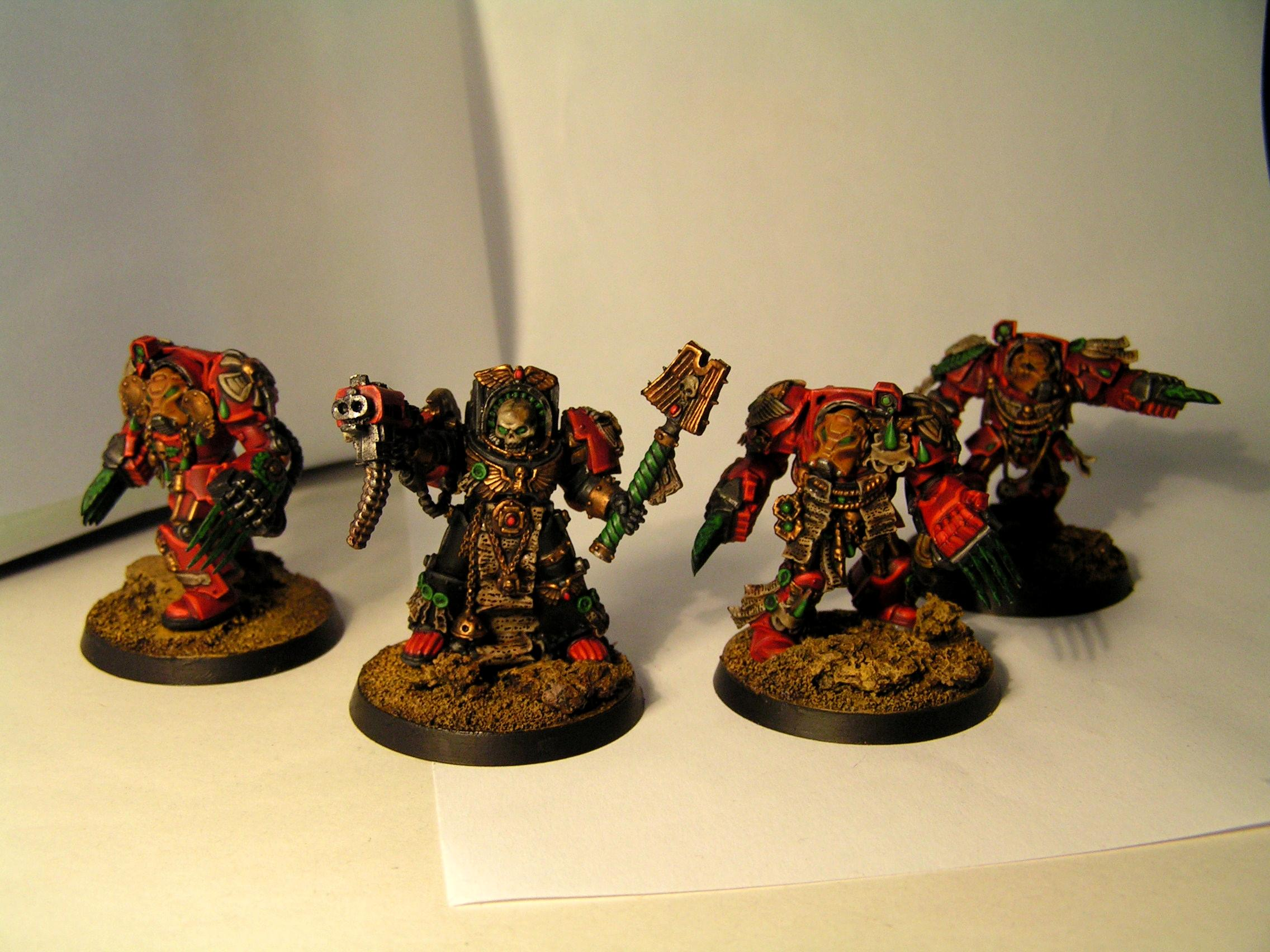 Blood Angels, Conversion, Reclusiarch, Space Hulk, Terminator Armor