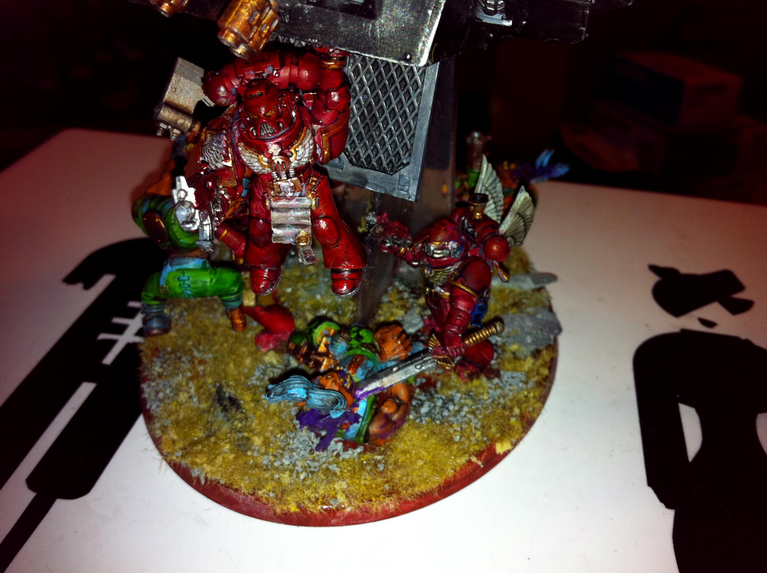 Blood Angels, Space Marines, Stormraven Gunship