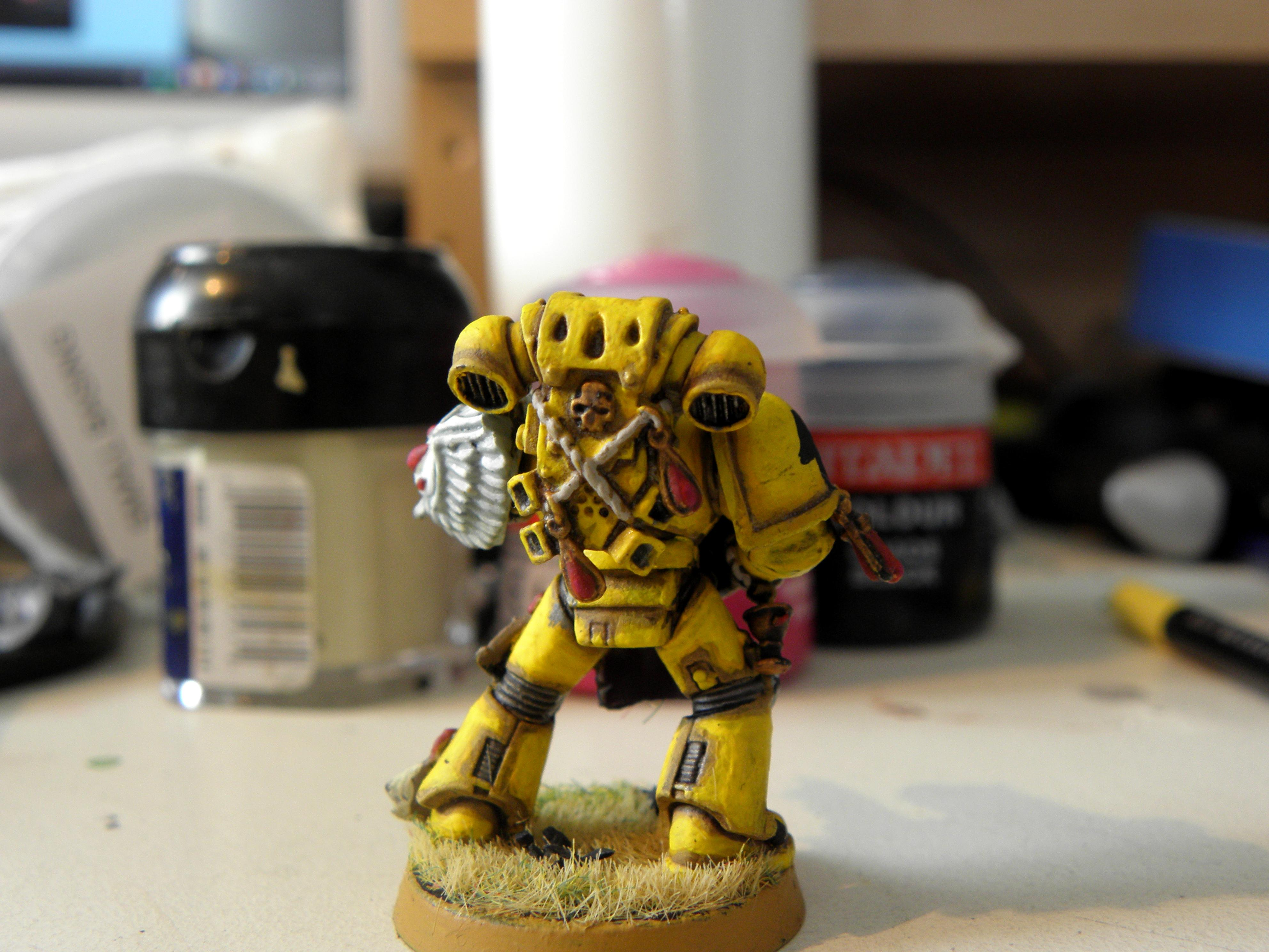 Lamenters, Space Marines, Tactical Squad, Yellow