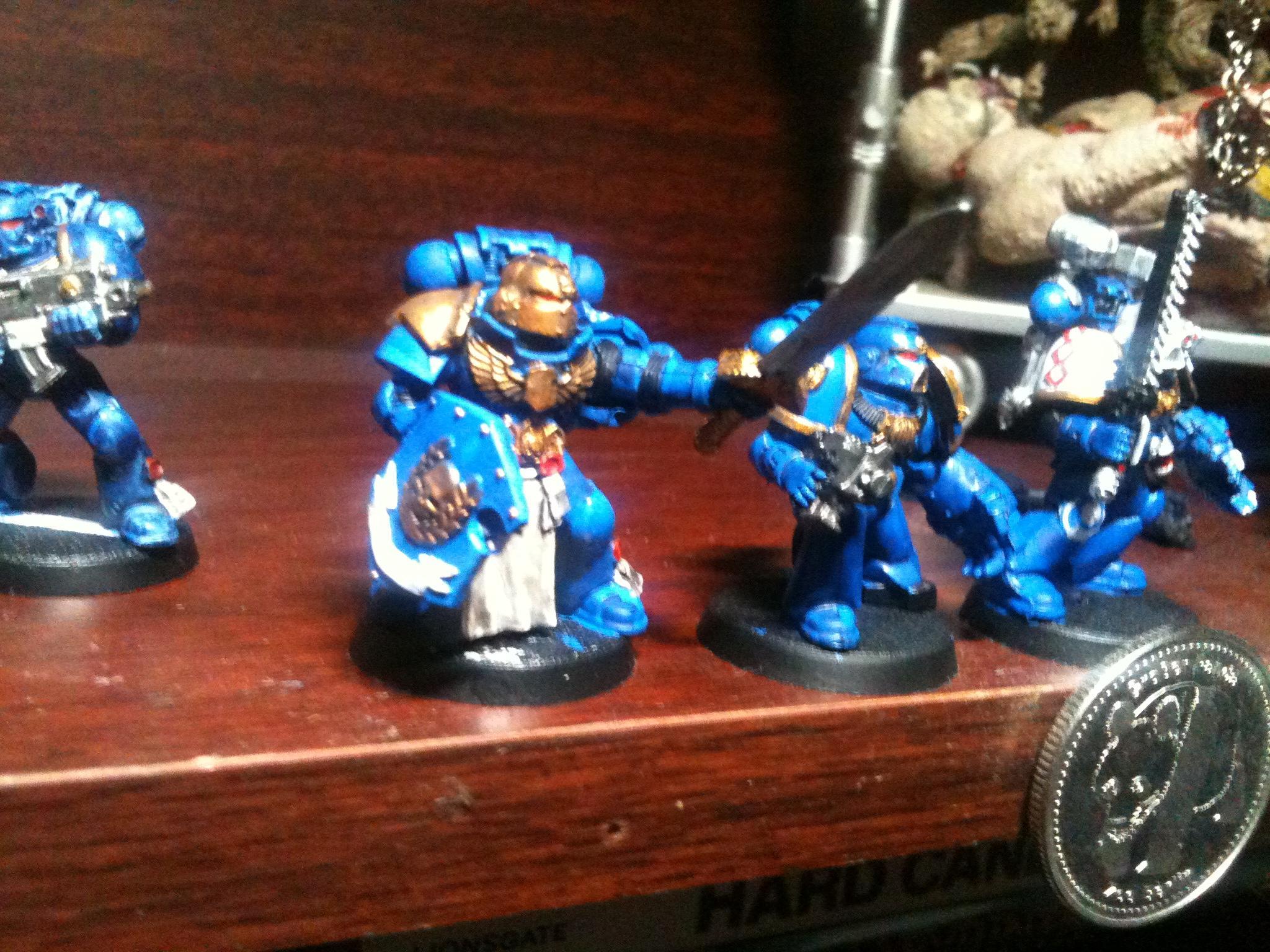 Command Squad, Dreadnought, Newbie, Space Marines, Ultramarines