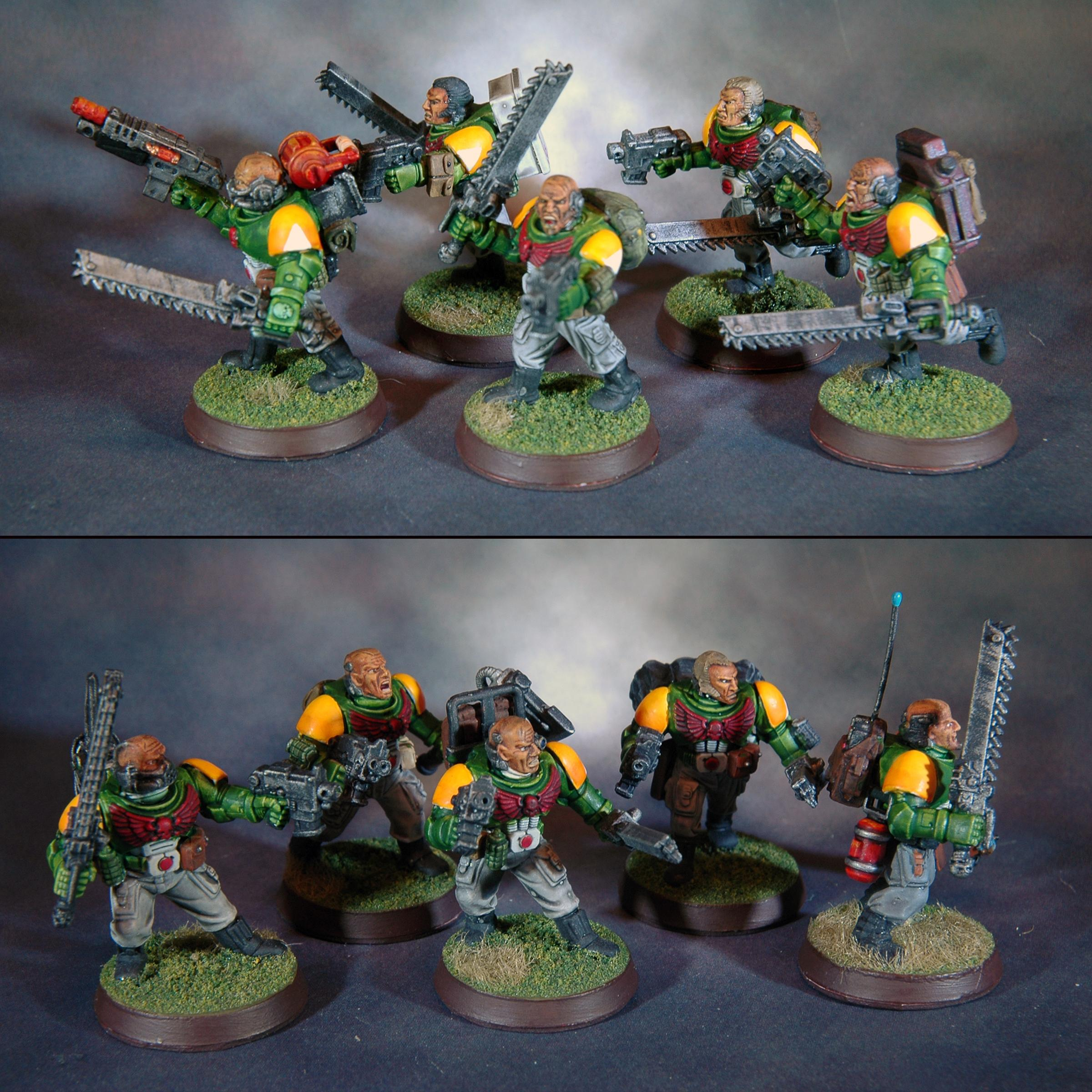 Mantis Warriors, Scouts, Space Marines, Warhammer 40,000