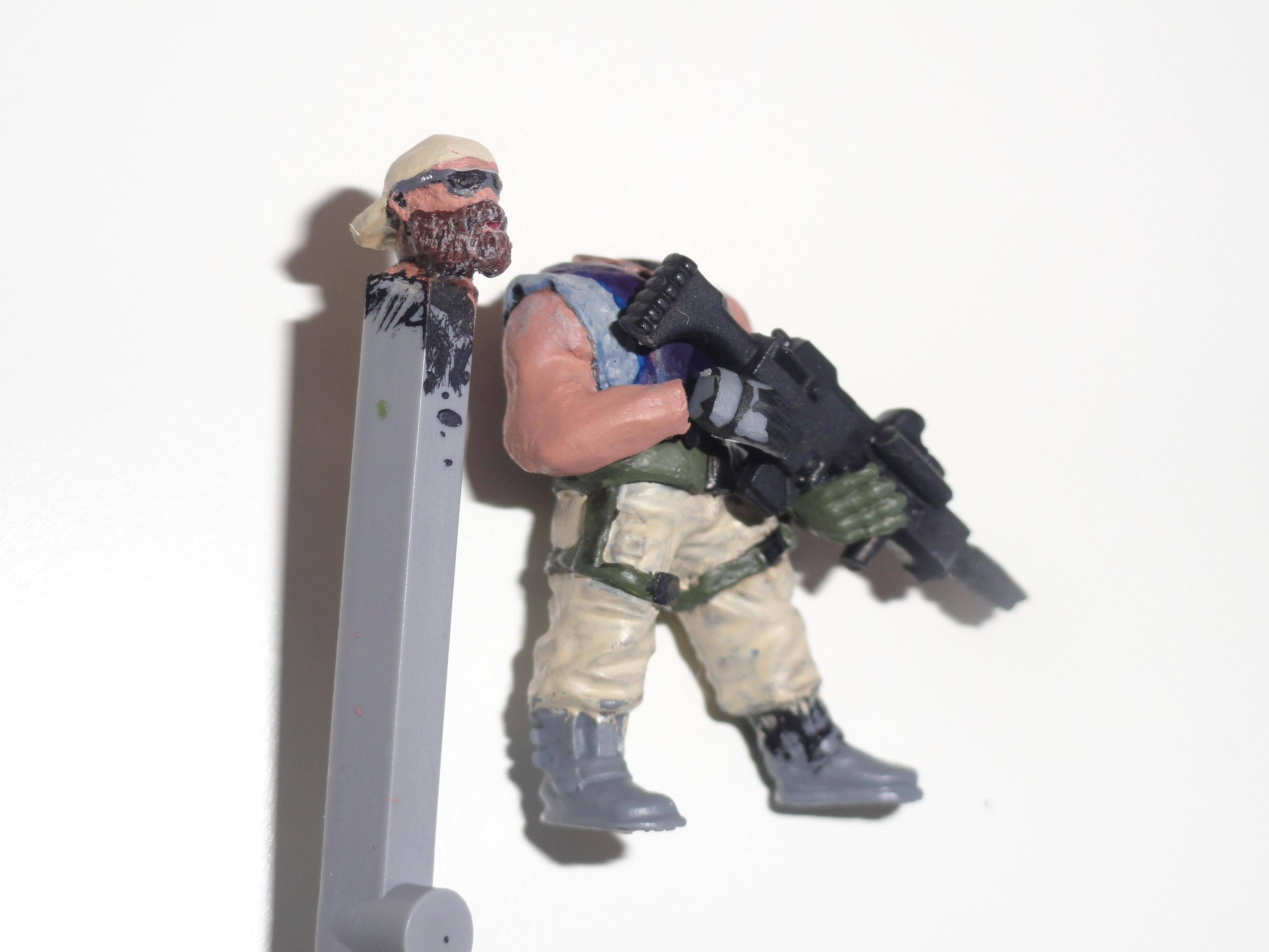 Beard, Cadians, Cap, Conversion, Customize, Imperial Guard, Infantry, Operator, Rifleman, Soldier, Special Forces, Sunglasses, Veteran, Warhammer 40,000