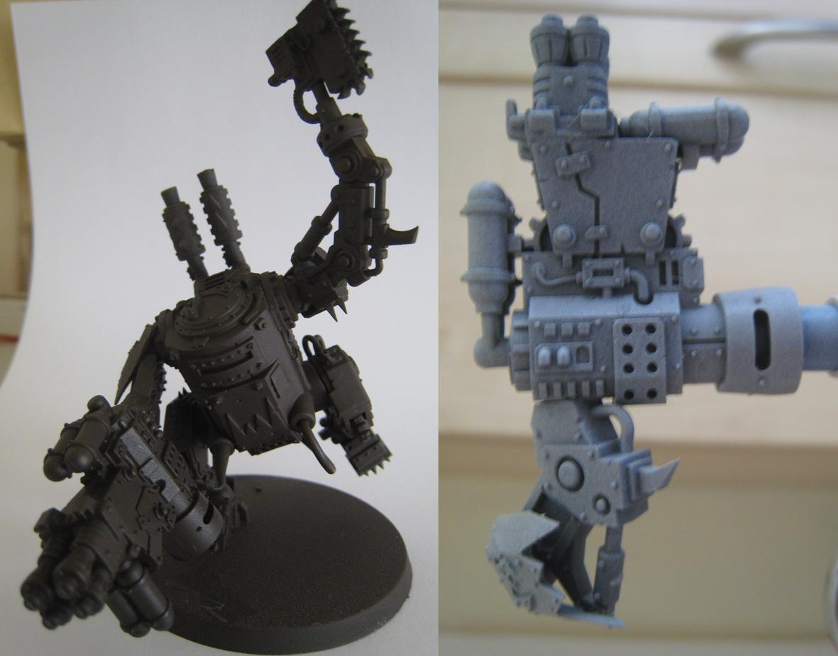 Choppa Kan, Conversion, Gretchin, Grots, Killa Kan, Kinder Kan, Mega Armor, Orks, Rebel
