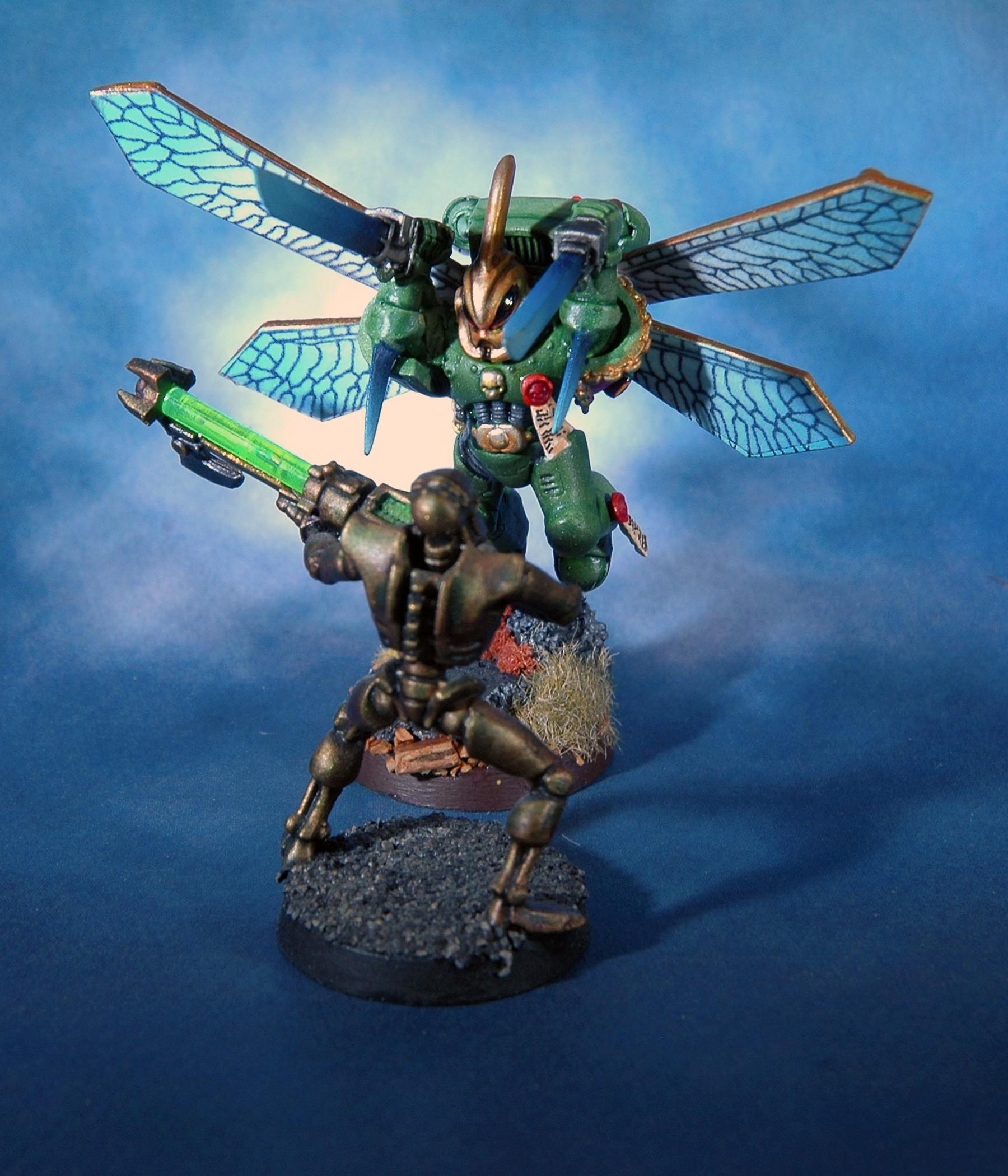Gms, Mantis Warrior, Space Marines, Vanguard, Warhammer 40,000