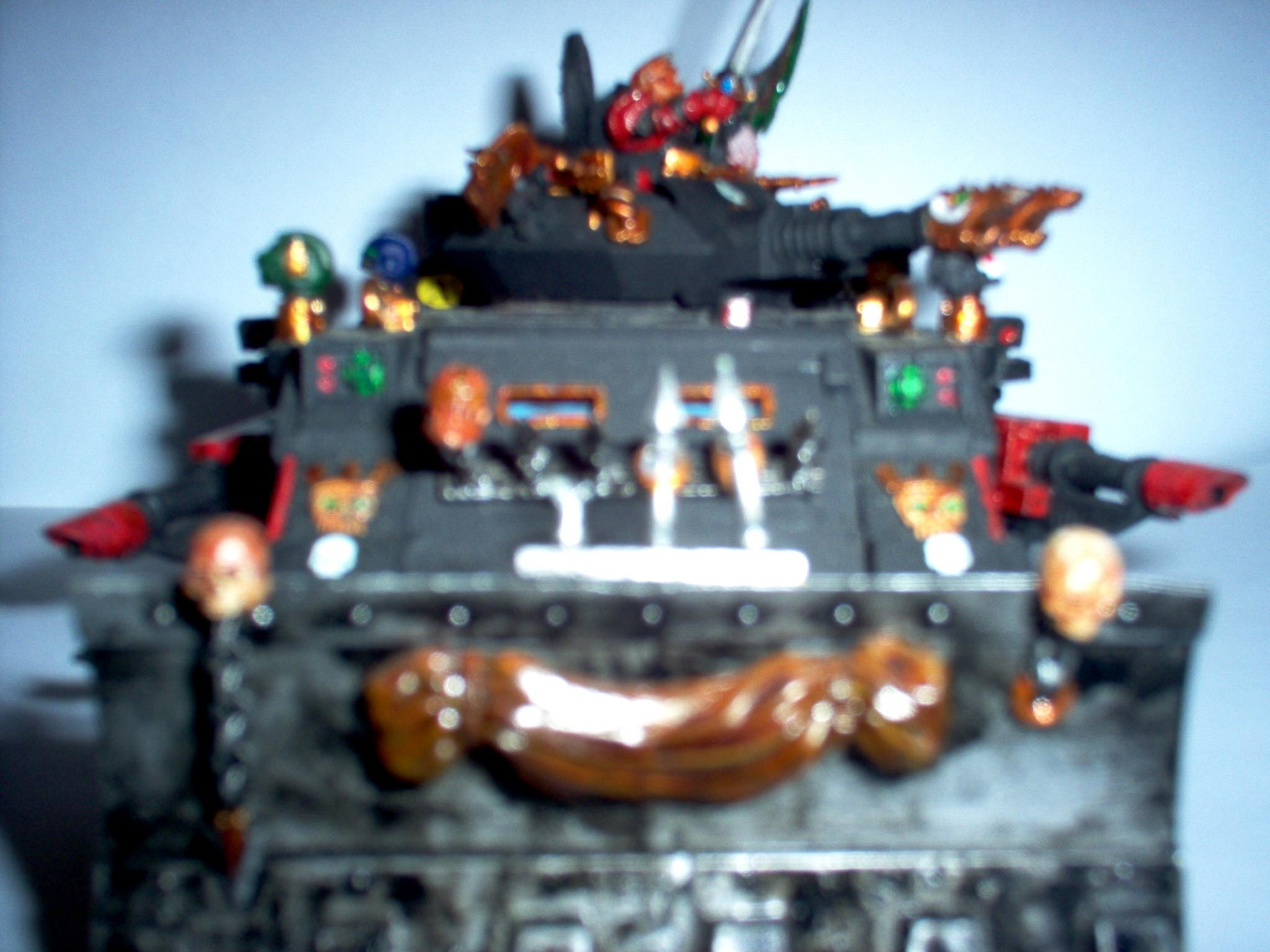 Chaos, Predator, Red Corsairs, Space, Space Marines, Tank