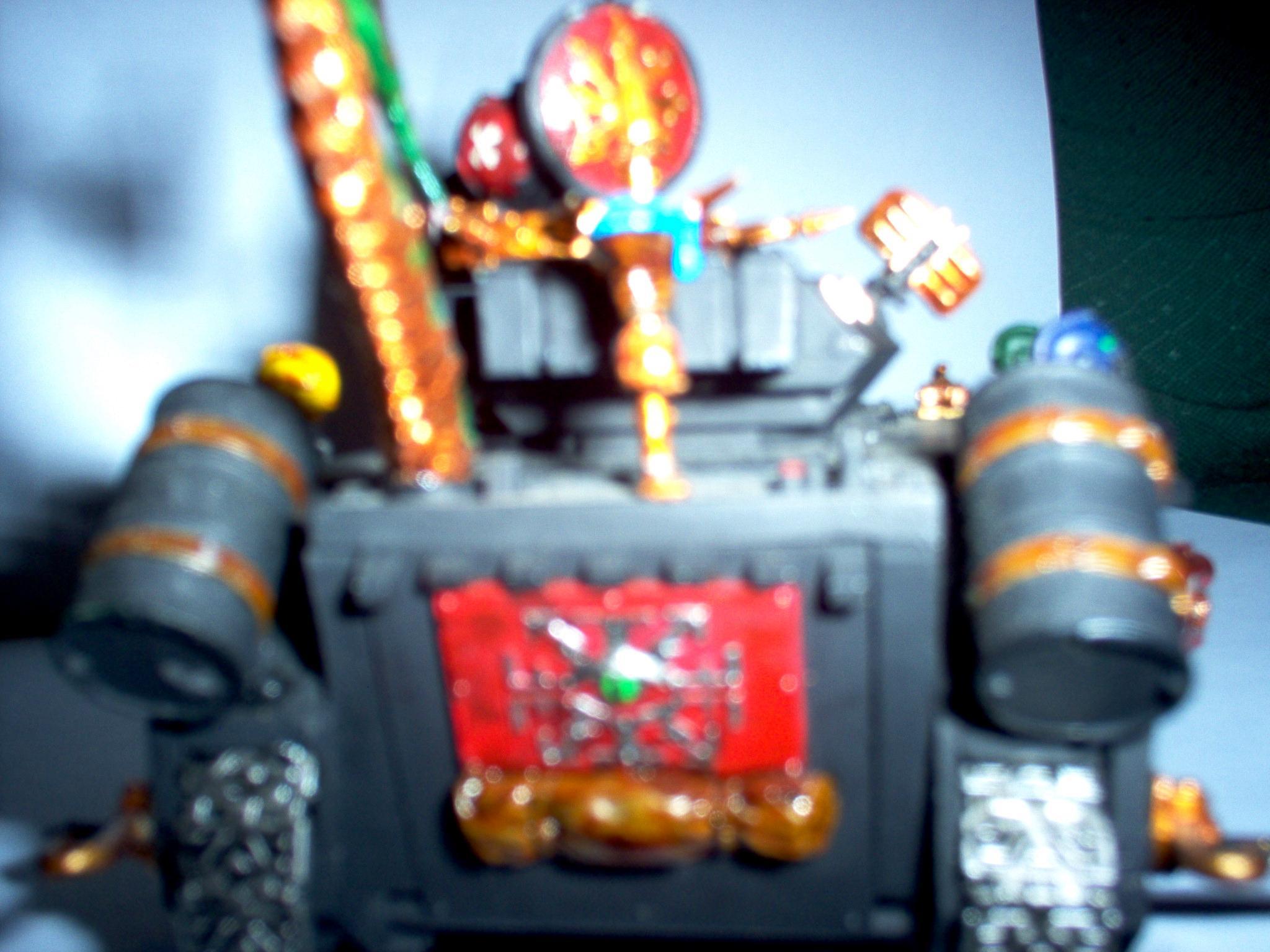 Chaos, Predator, Red Corsairs, Space, Space Marines, Tank