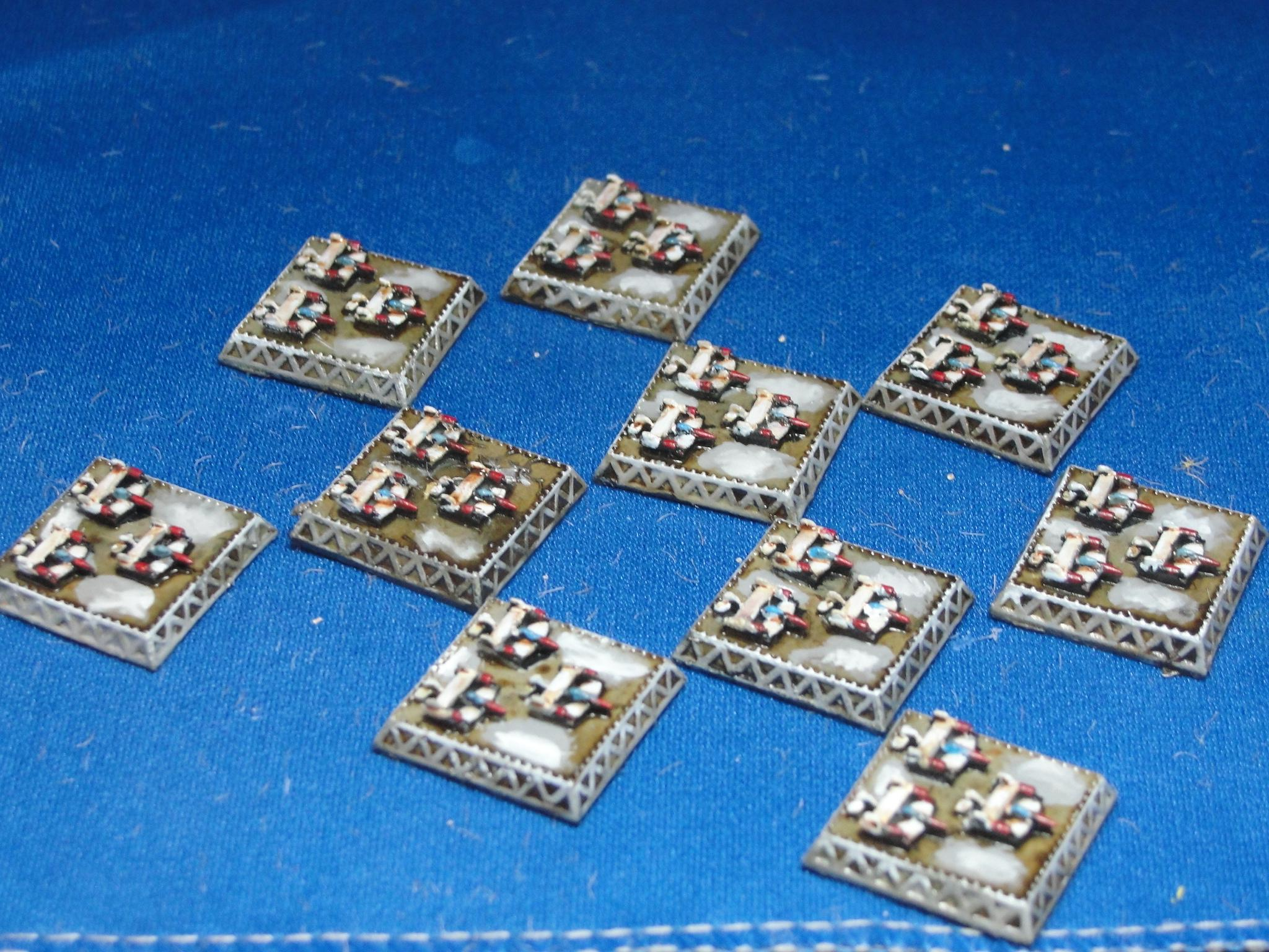 Dystopian Wars, Dystopian Wars, Empire of the Blazing Sun, Fighter Tokens