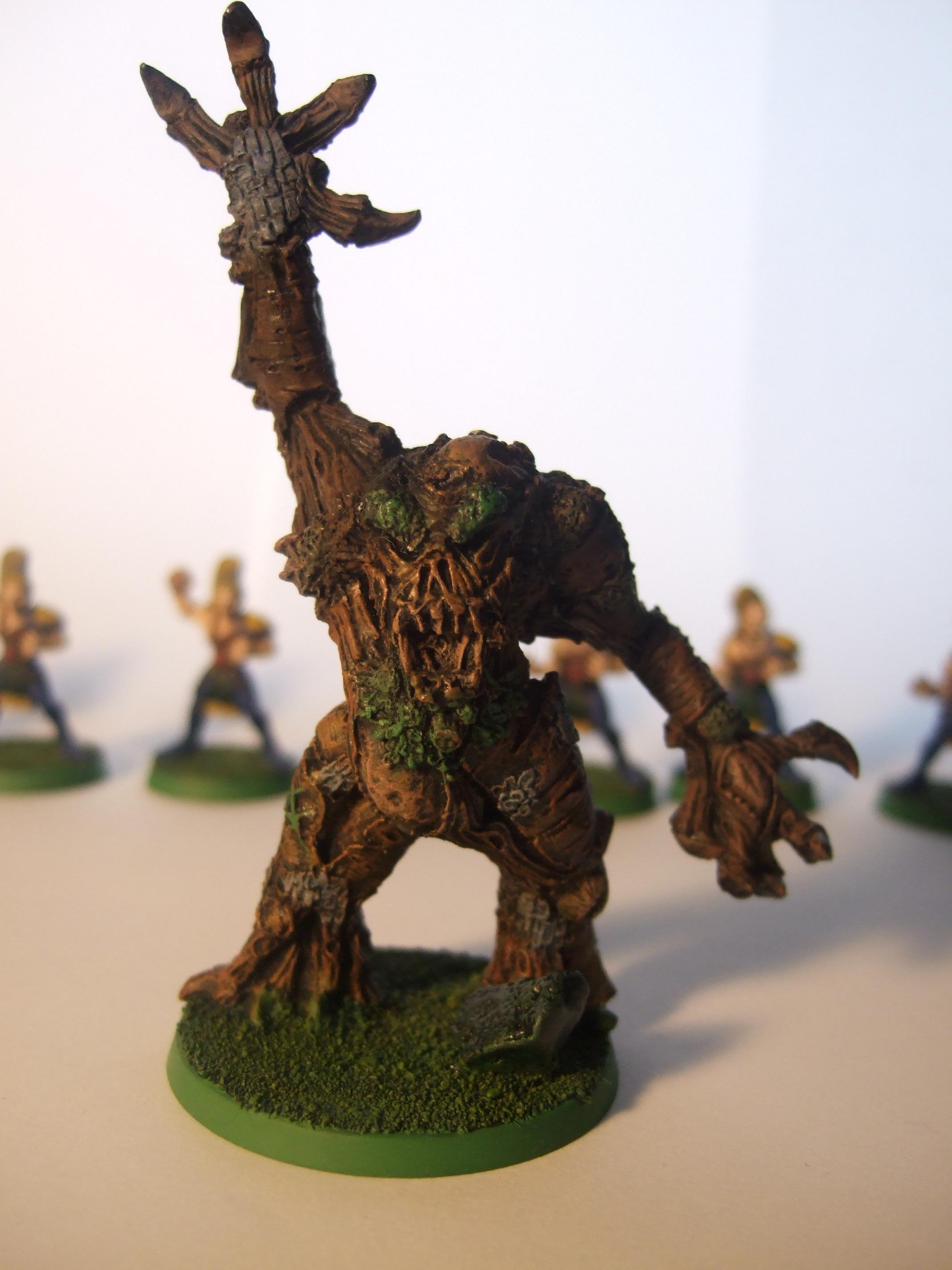 Blood Bowl, Treeman, Wood Elves
