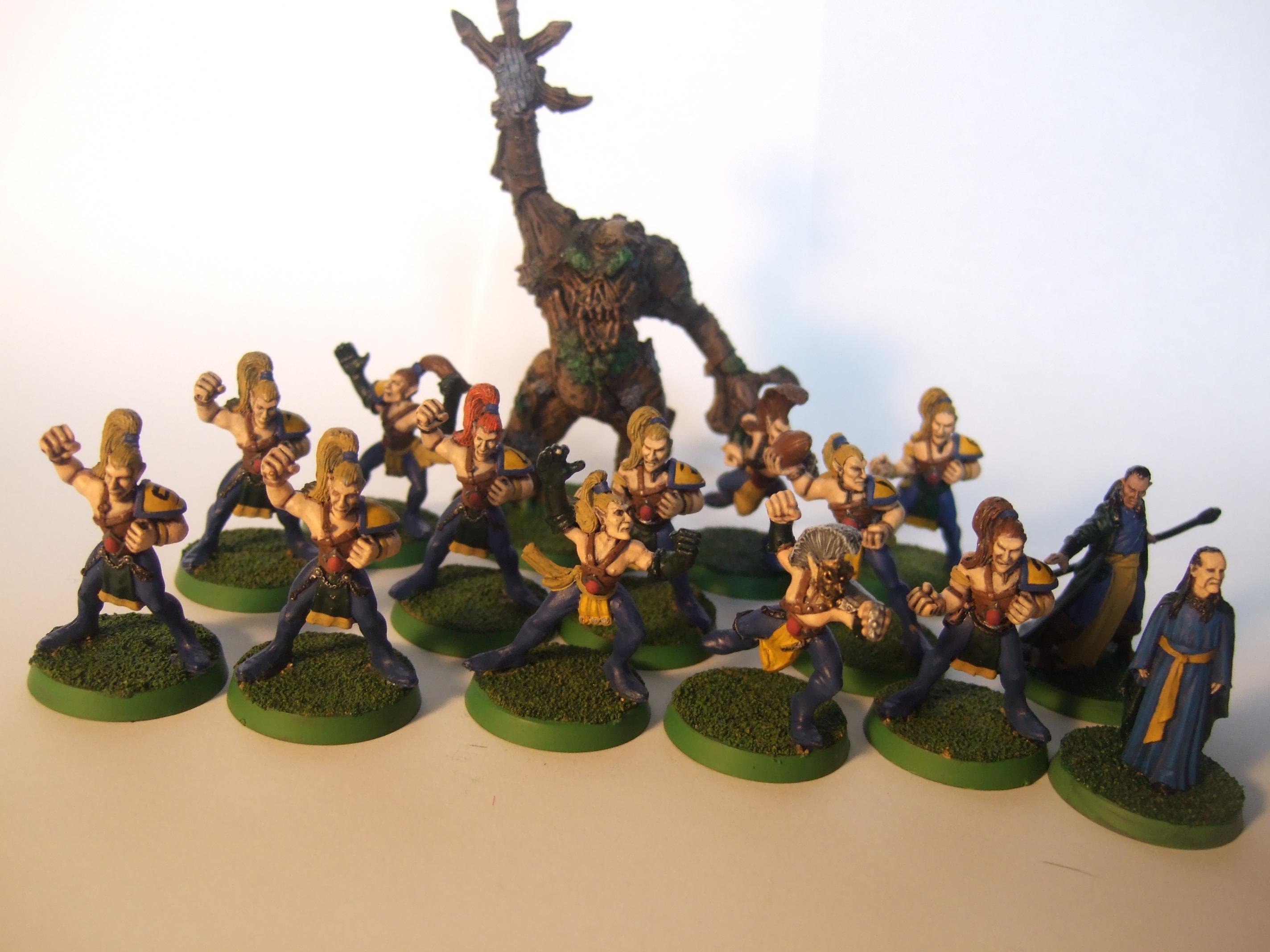 Blood Bowl, Treeman, Wood Elves