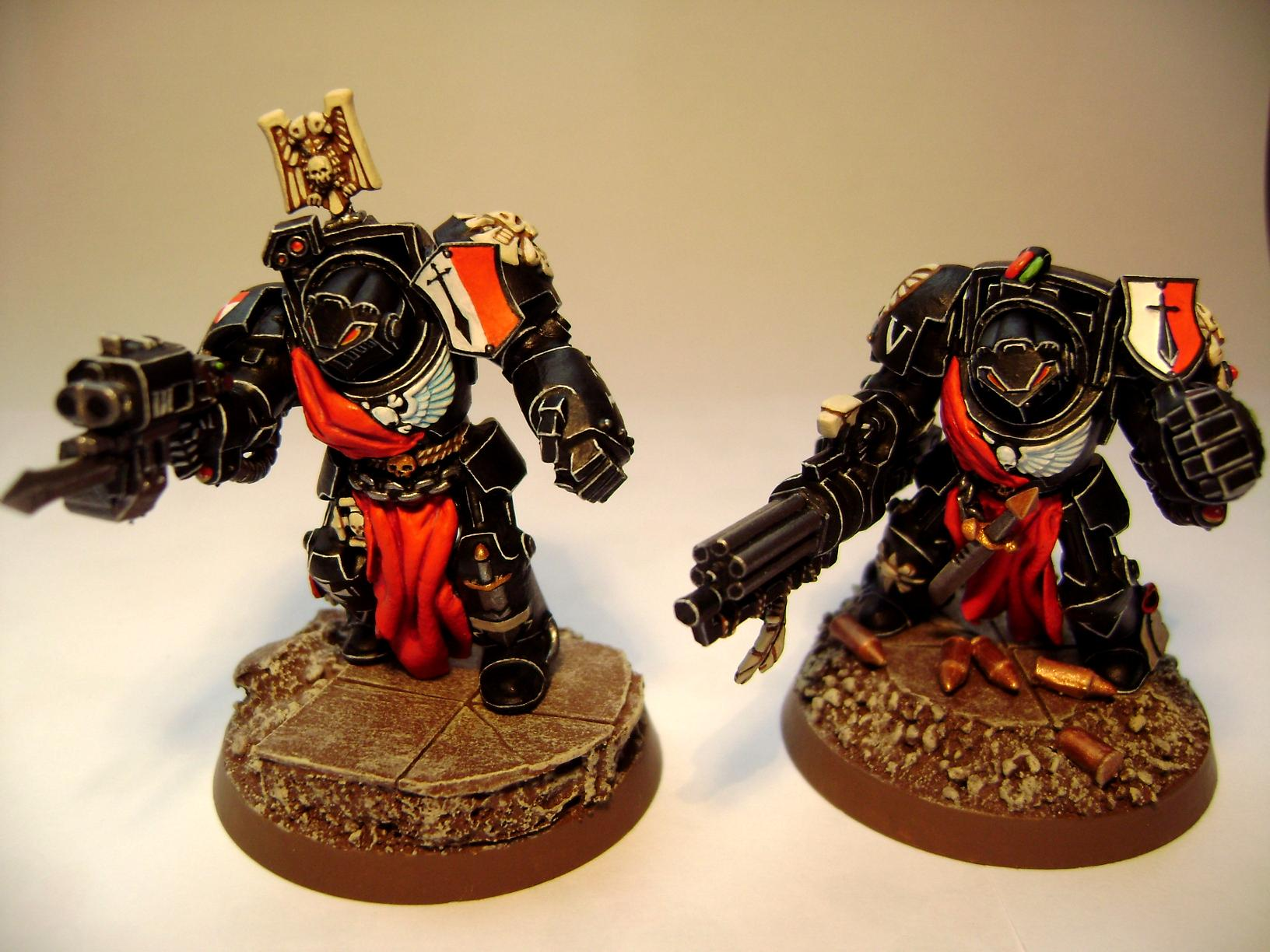 Assault Cannon, Power Fist, Powerfists, Space Marines, Storm Bolter, Tactical Dreadnought Armour, Terminator Armor