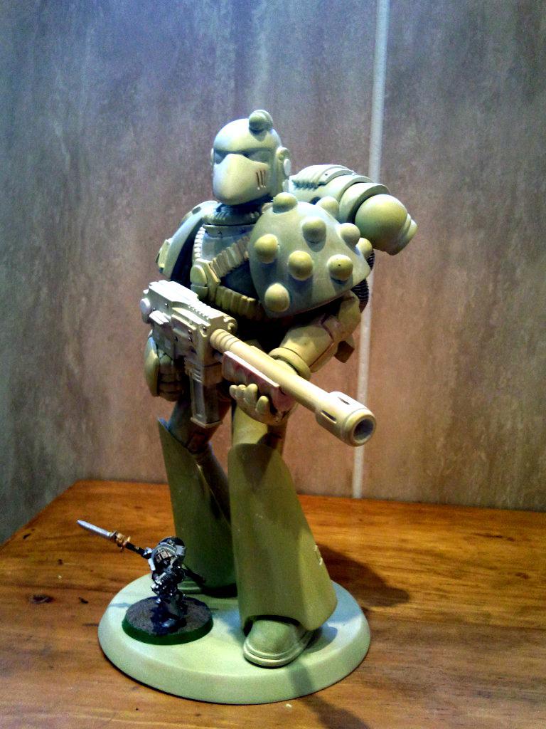 Huge, Sculpting, Space Marines