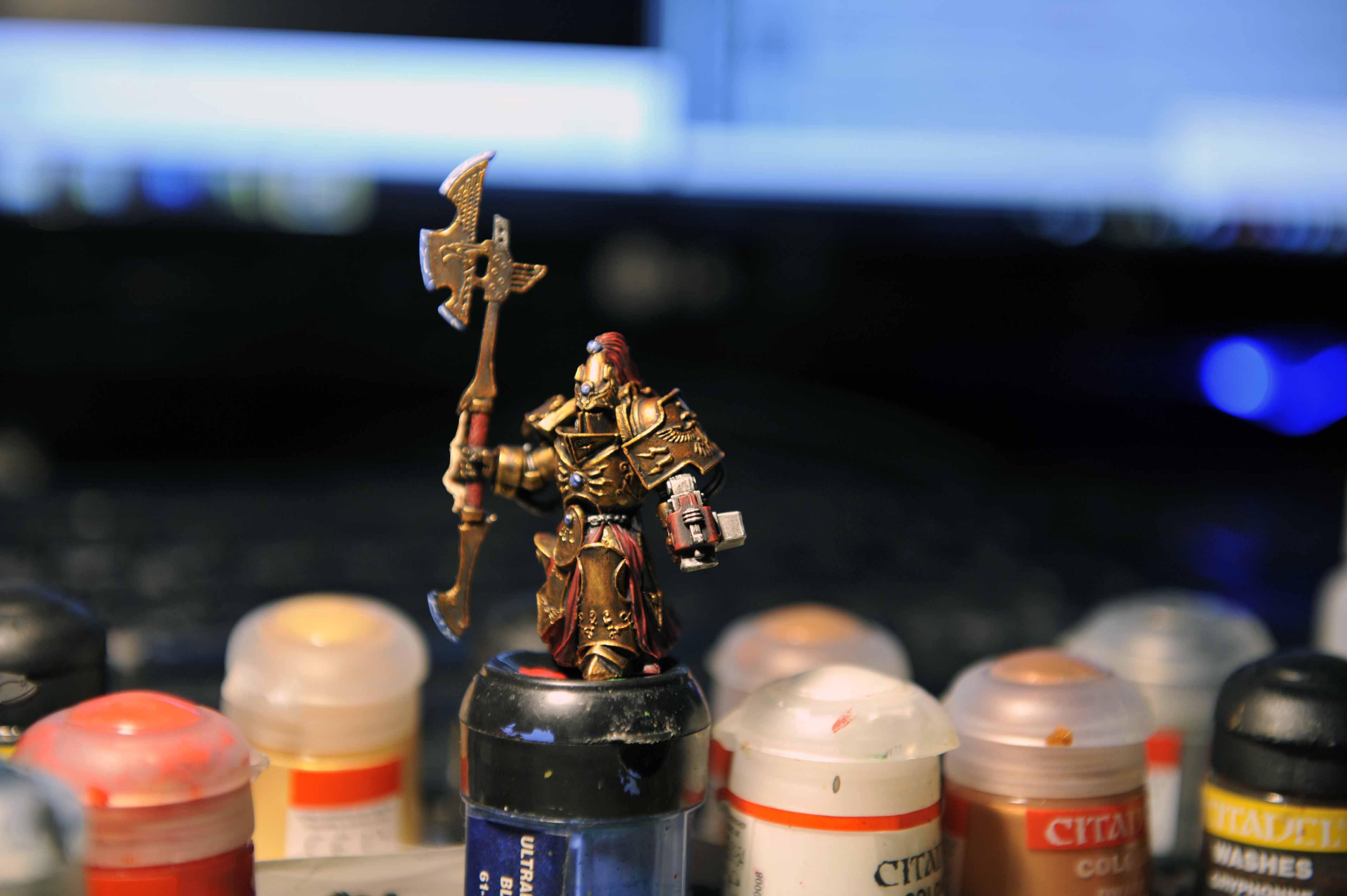 Adeptus, Custodes, Grey Knights, Purificator, Scibor, Work In Progress
