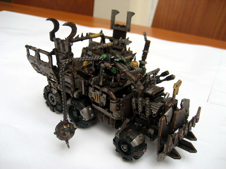 Orks, Trukk, Warhammer 40,000, Warhammer Fantasy