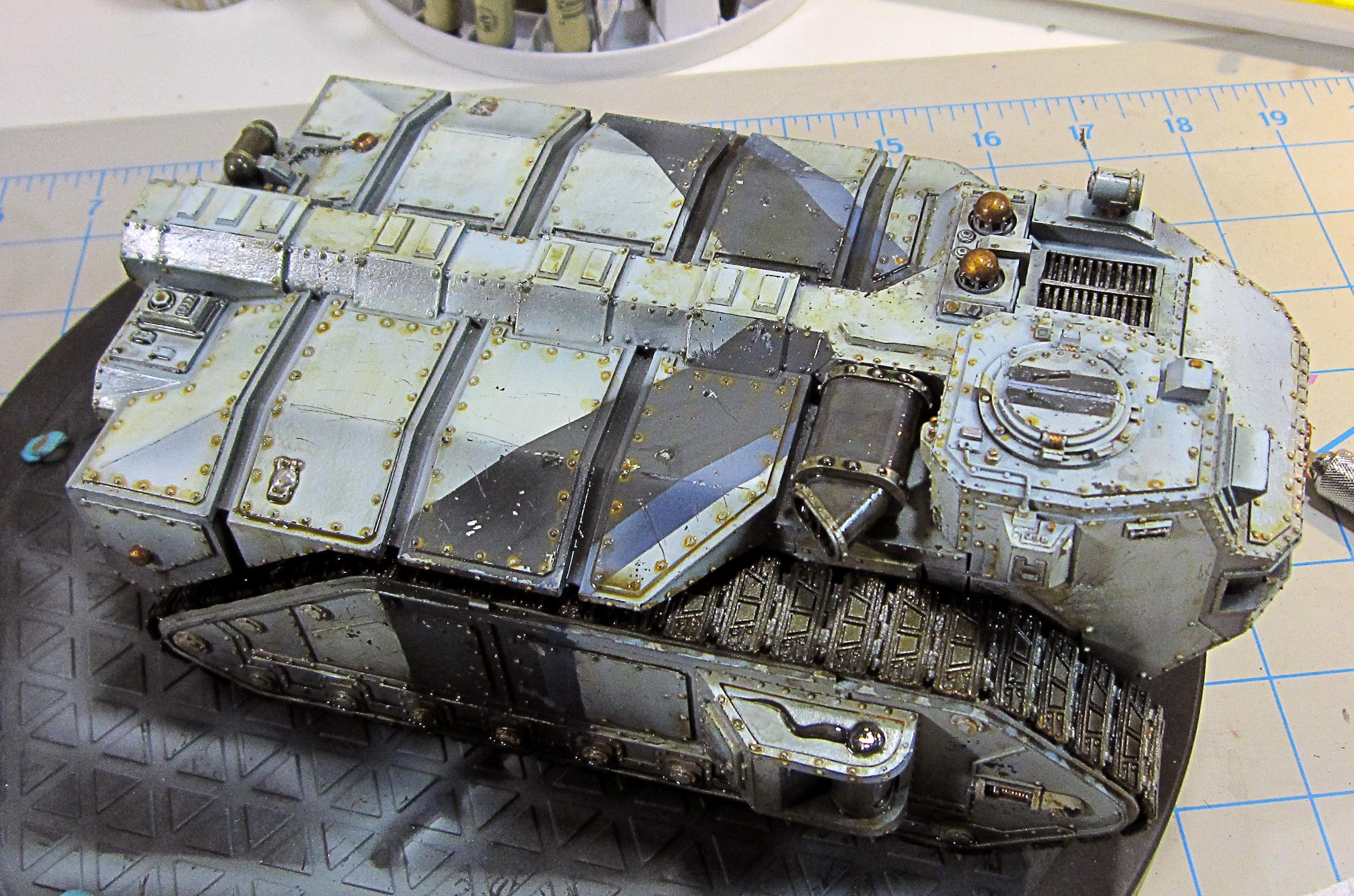 Crassus, Cult, Forge World, Genestealer, Hybrid, Imperial Guard, Tank