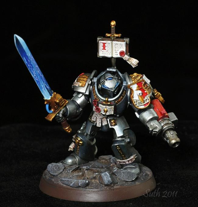 Grey Knights, Power Sword, Space Marines
