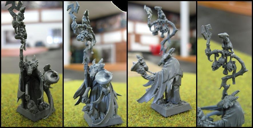 Grey Seer, Necromancer, Skaven, Warhammer Fantasy