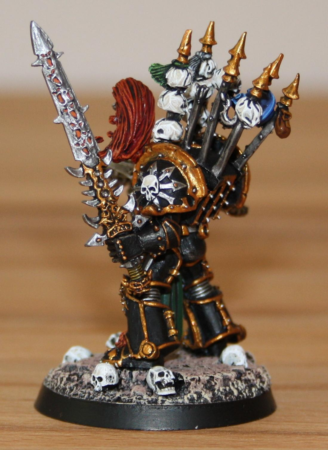 Abaddon, Chaos Space Marines, Chaos Undivided, Painted, Warhammer 40,000