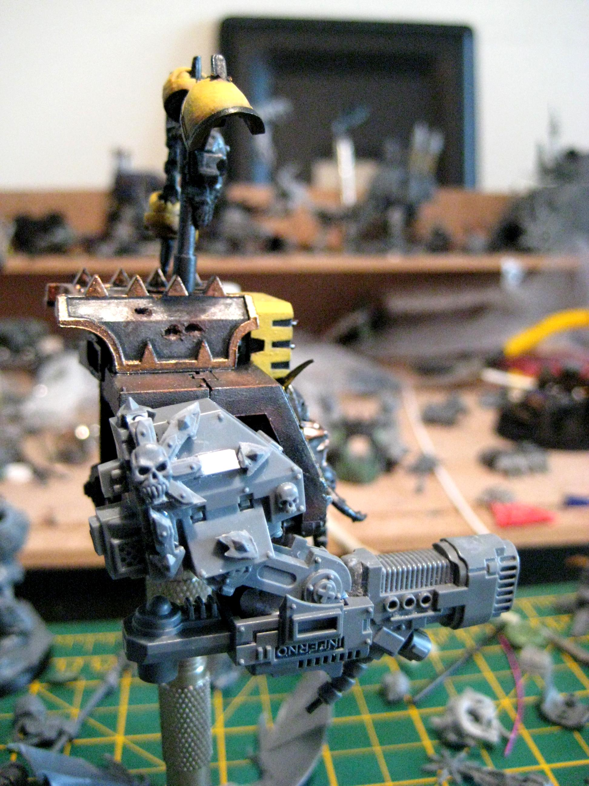 Chaos, Dreadnough, Dreadnought, Iron Warriors, Work In Progress