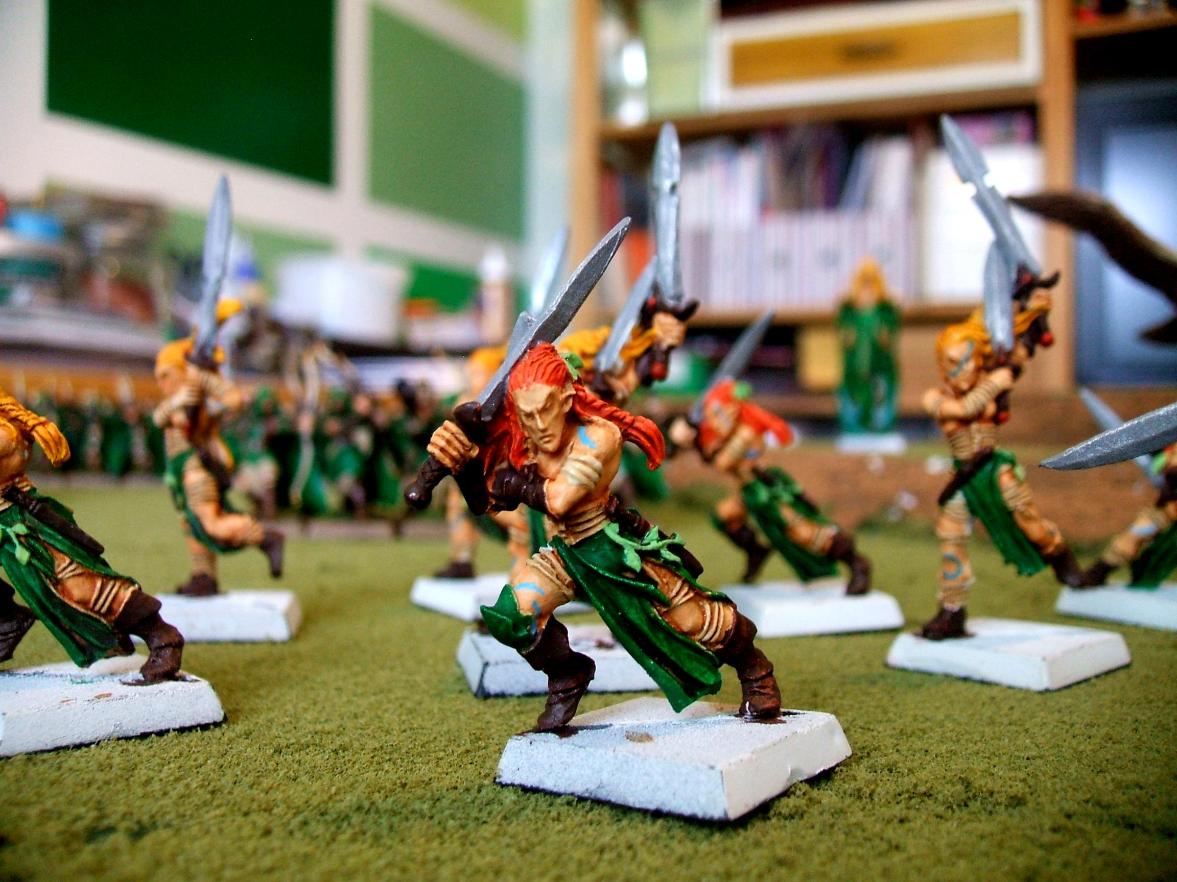 Wardancers, Wood Elves, Fantasy