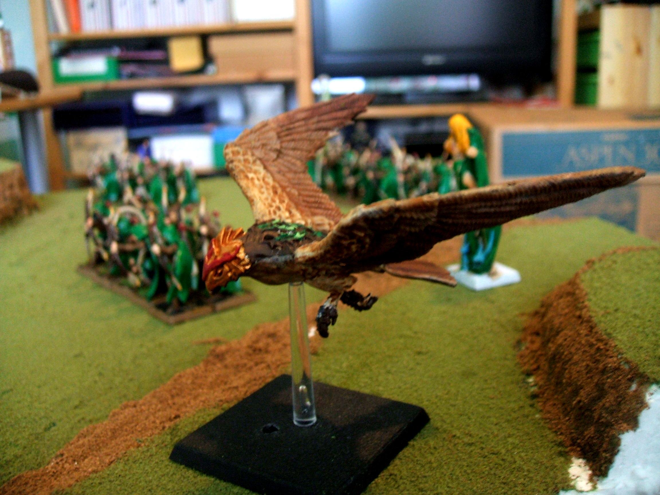 Warhawk, Great Eagle, Wood Elves, Fantasy