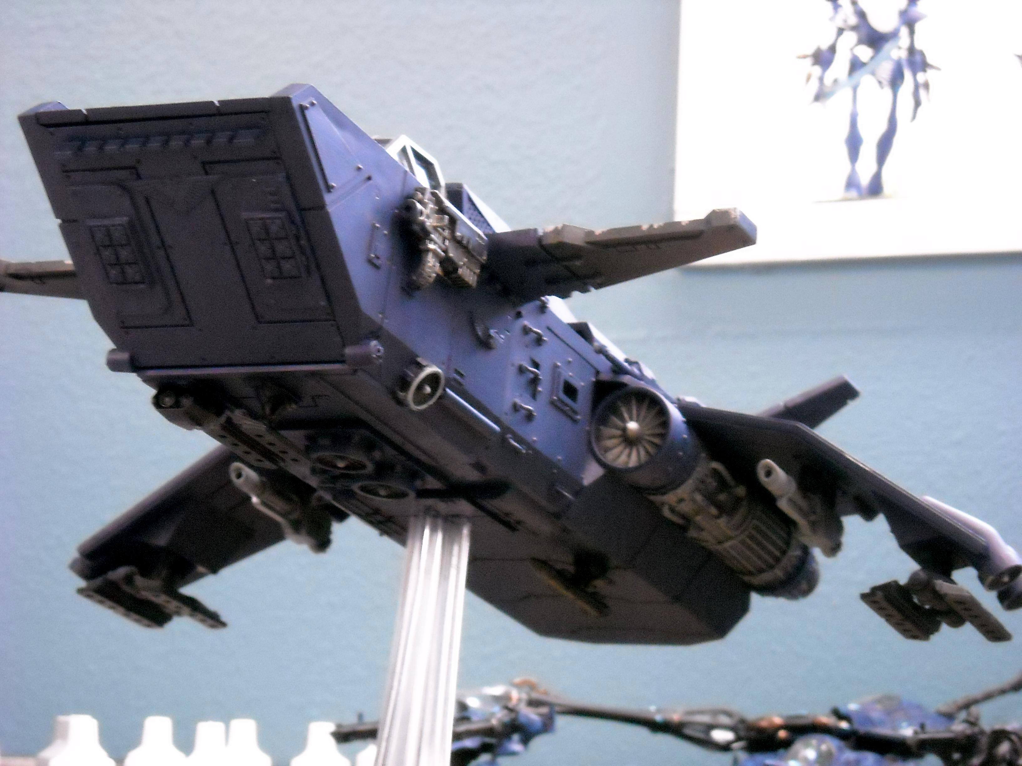 Alpha Legion, Chaos, Conversion, Dark Mechanicum, Flyer, Gunship, Mechanicus, Storm Raven, Stormraven, Valkyrie