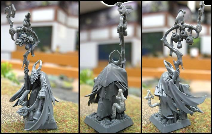 Conversion, Grey Seer, Skaven, Warhammer Fantasy