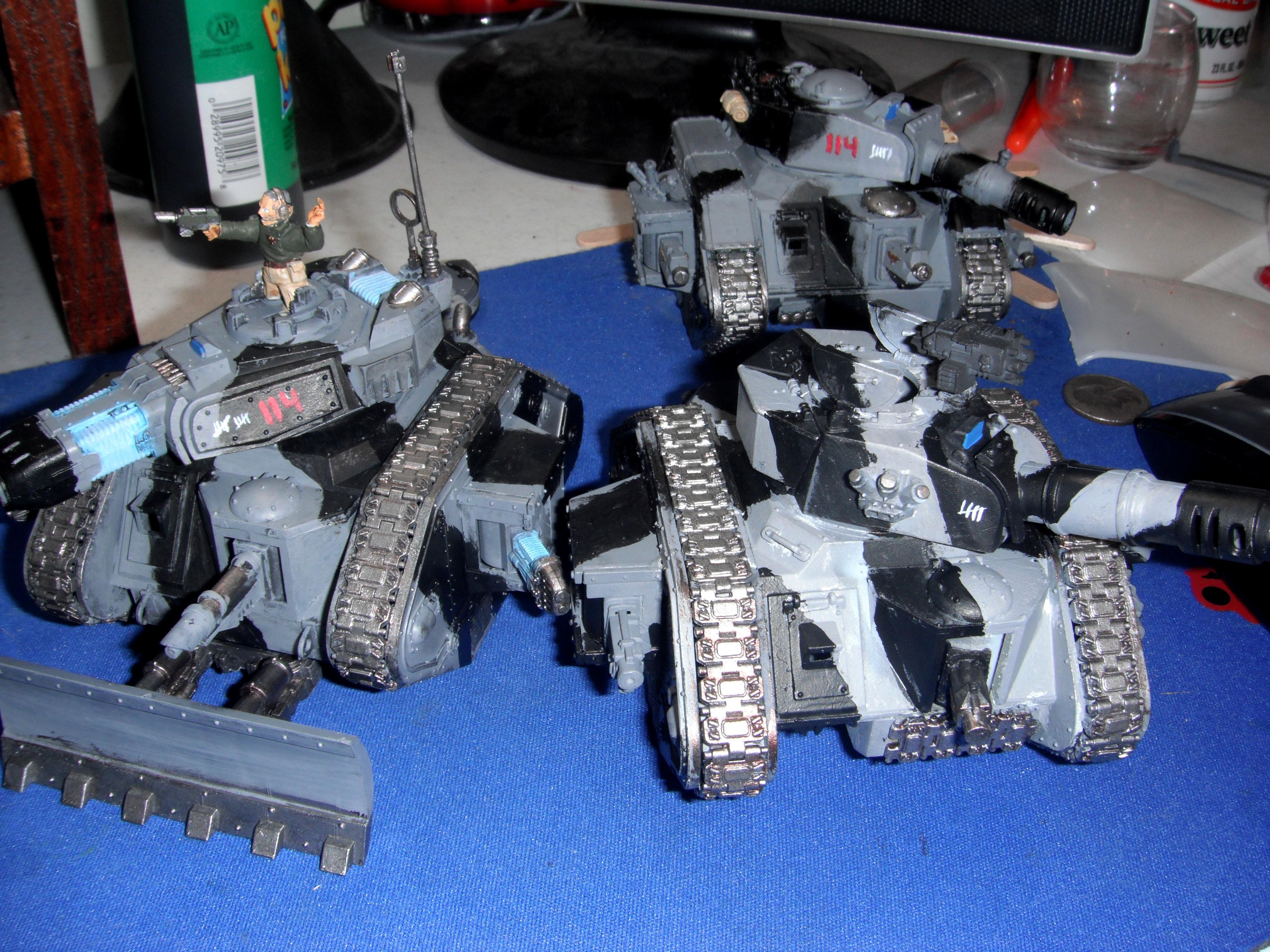 Acrtic Cammo, Battle Tank, Executioner, Leman Russ