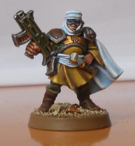Desert, Guard, Imperial, Imperial Guard, Lieutenant, Officer, Raider, Tallarn Desert Raiders