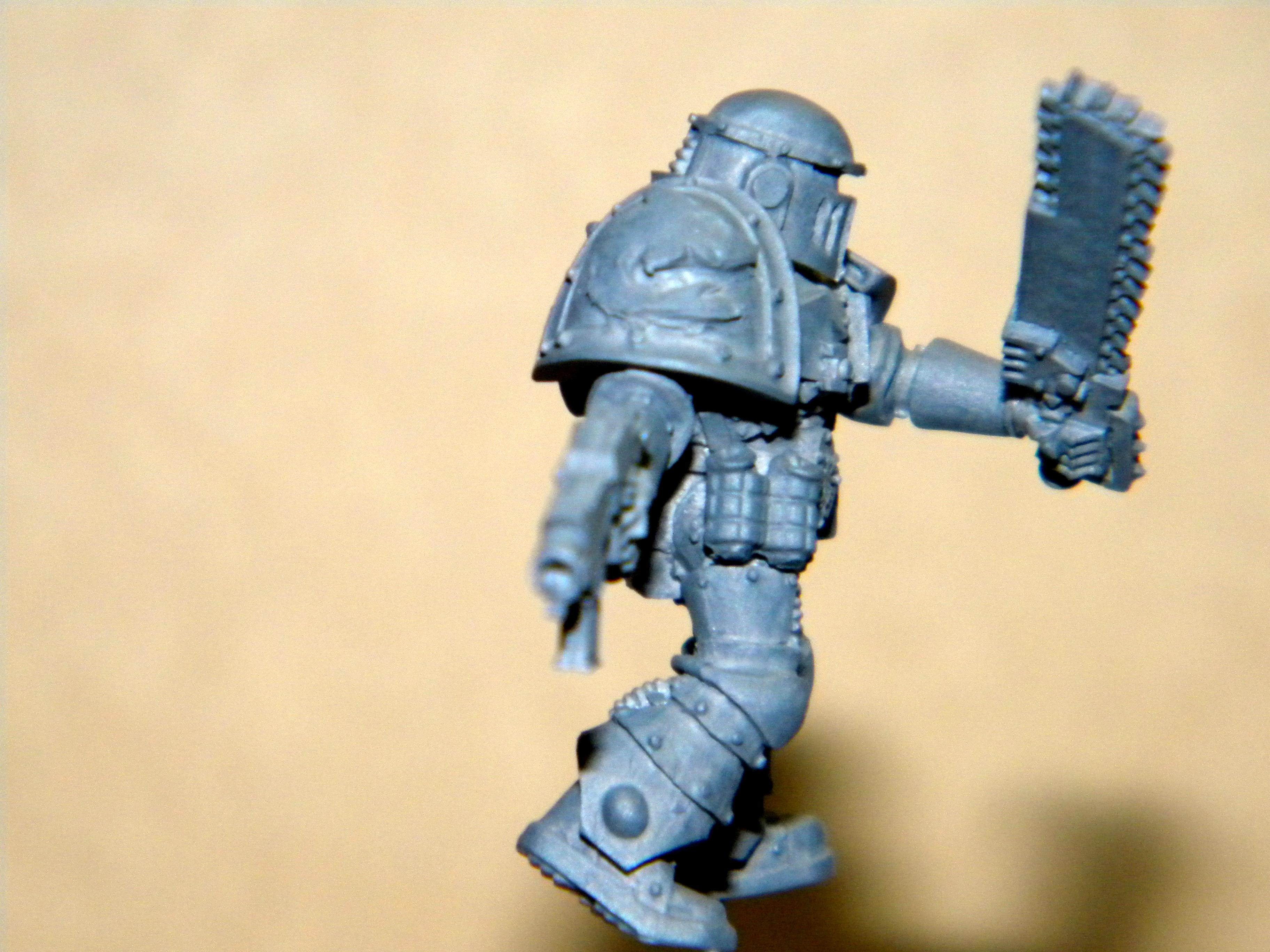 Carcharodons, Space Marines