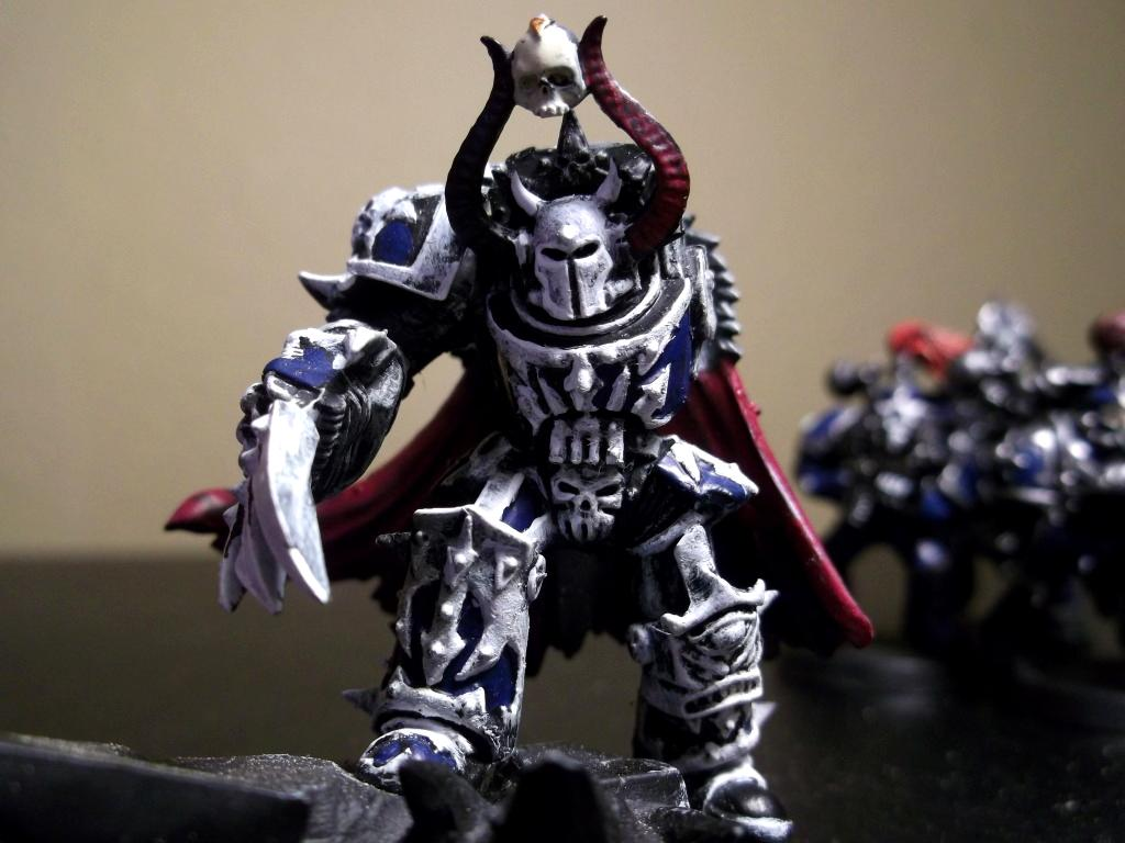 Chaos, Chaos Lord, Chaos Space Marines, Night Lord, Terminator Armor