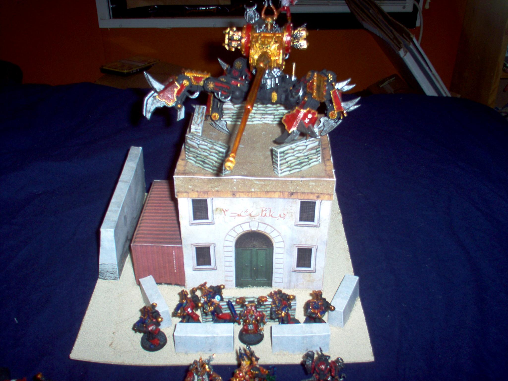 Buildings, Chaos, Space Marines, Terrain