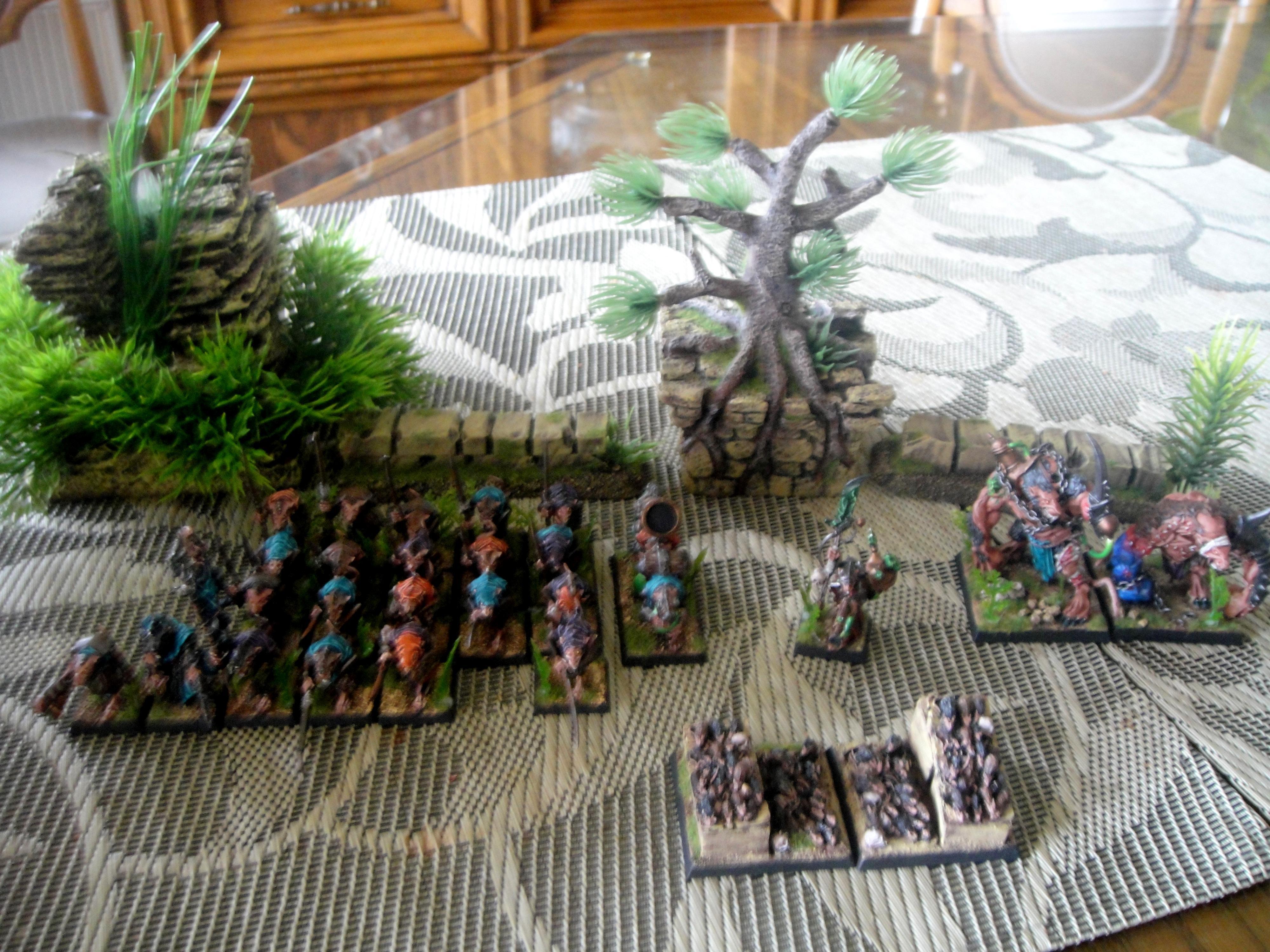 Army, Clanrats, Skaven, Terrain