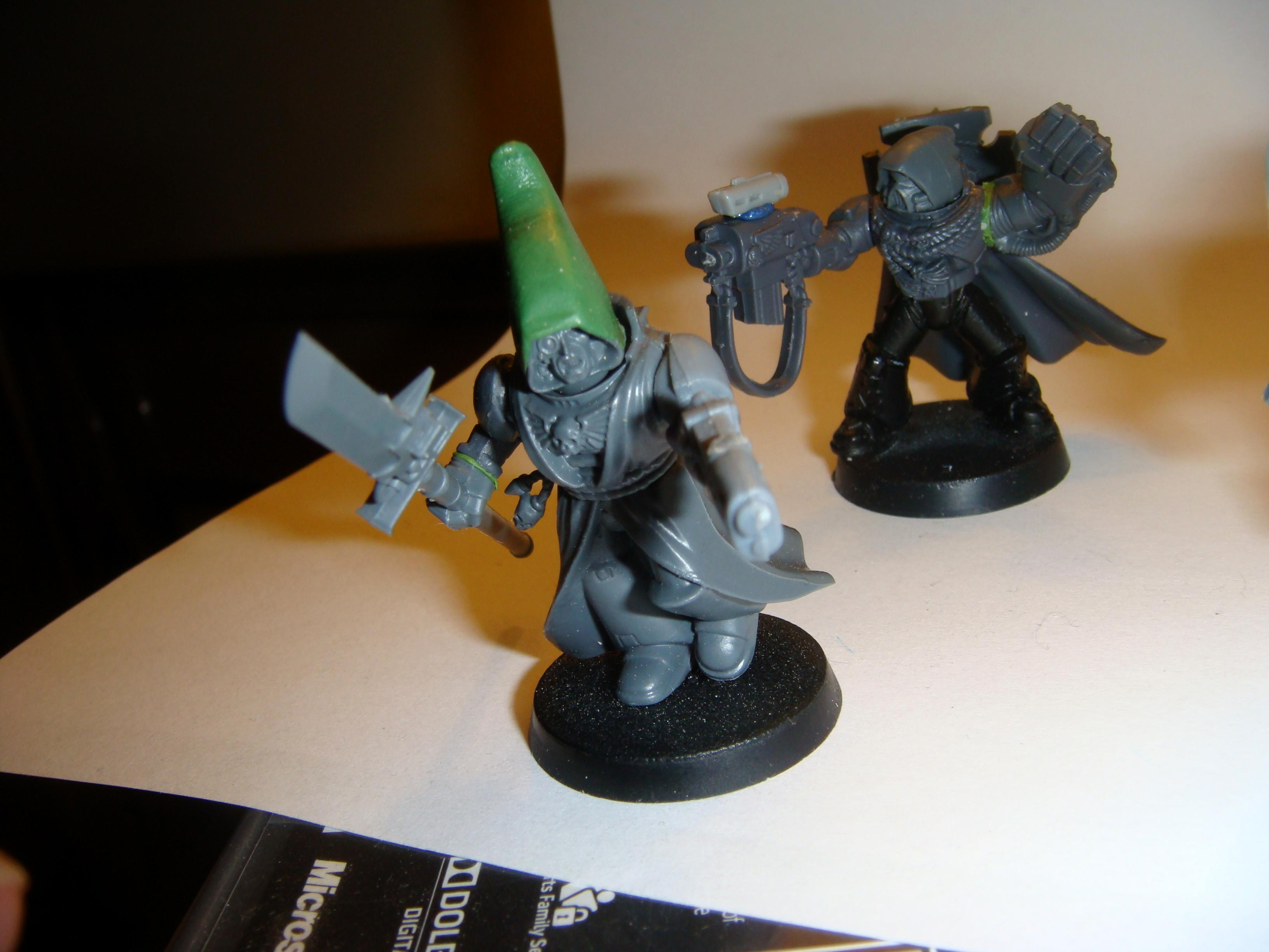 Command, Inquisitor, Space Marines, Squad, Warhammer 40,000