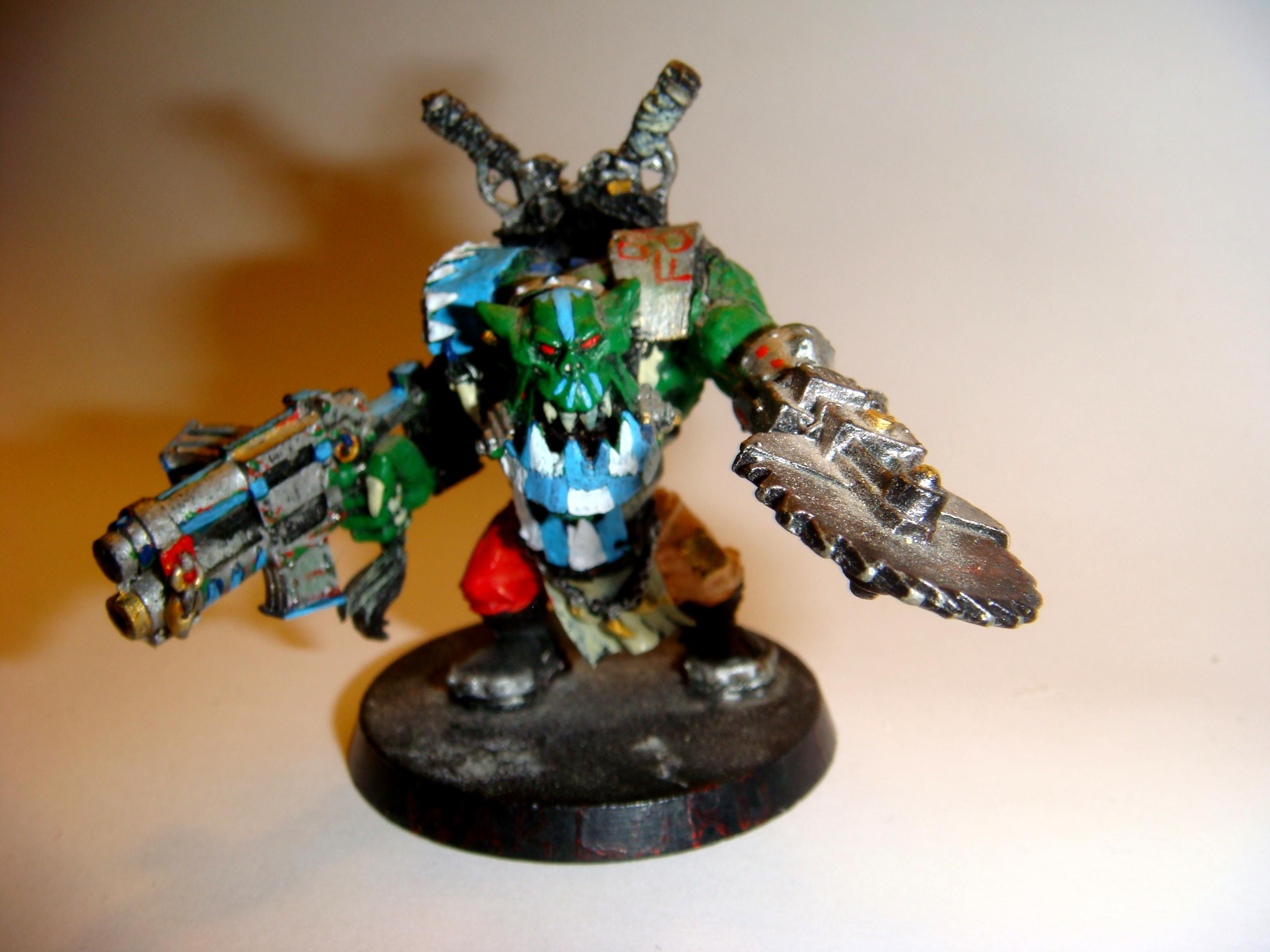 Conversion, Orcs, Orks, Warboss