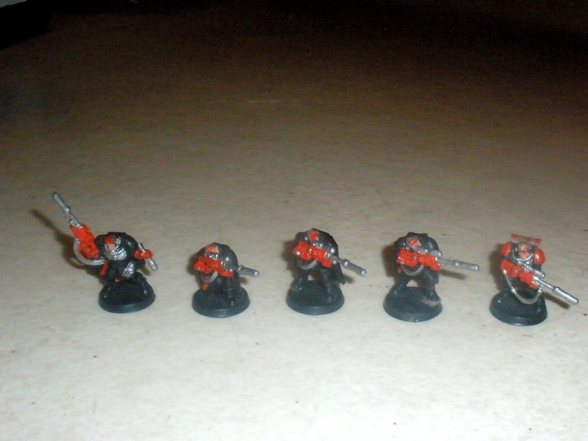 Scout Squad, Sniper Rifles