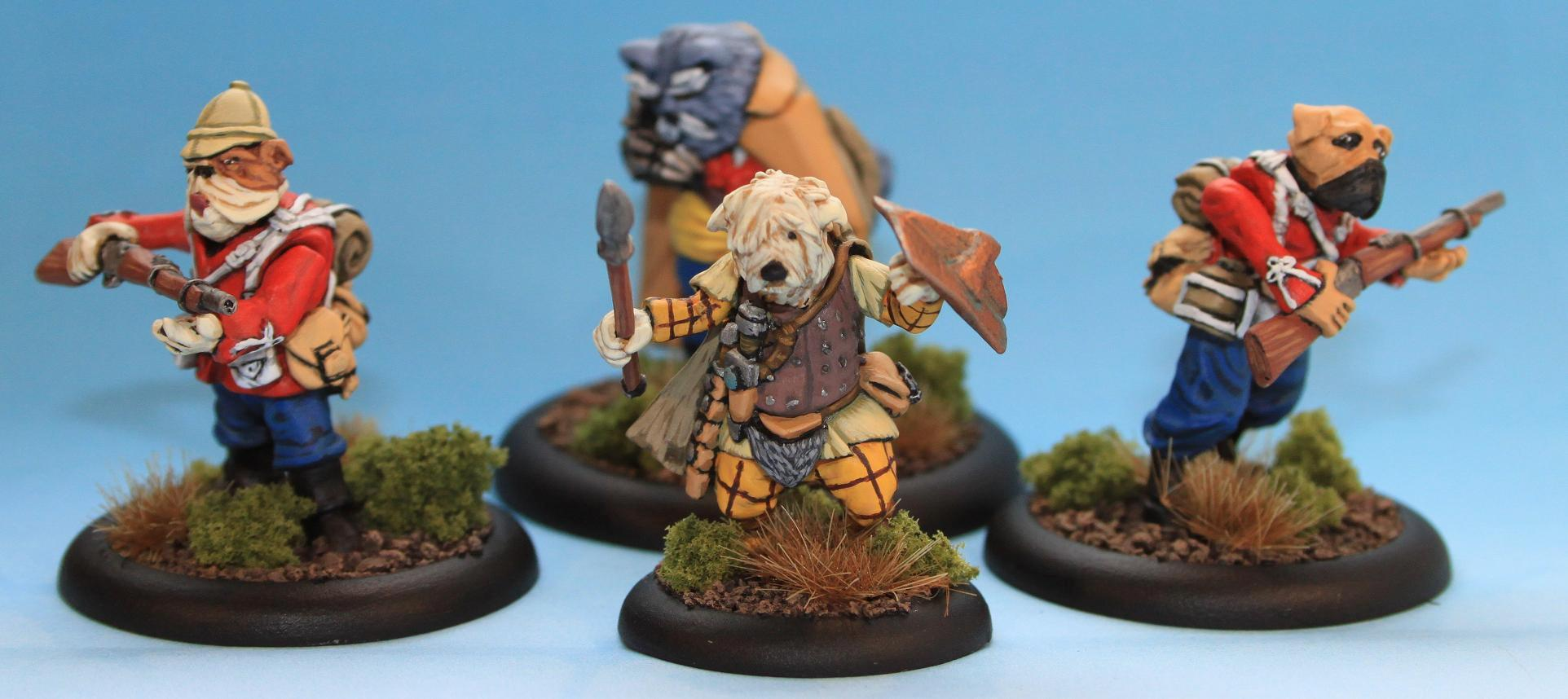 Brushfire, Axony Warband