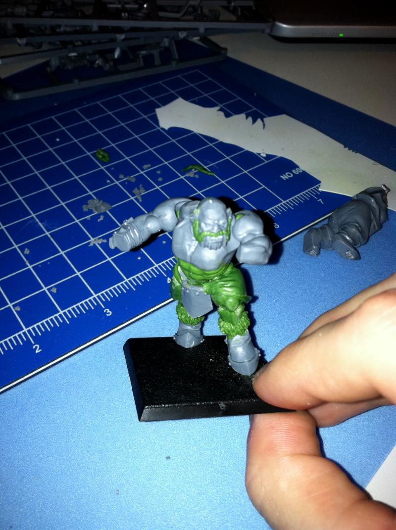Fpss Ogre Wip Thread Frost Giants 126 Scarfface Forum 26416electricpanelpanelwiringjpg Mock Up With Arms And Head Tacked In Place Roughly