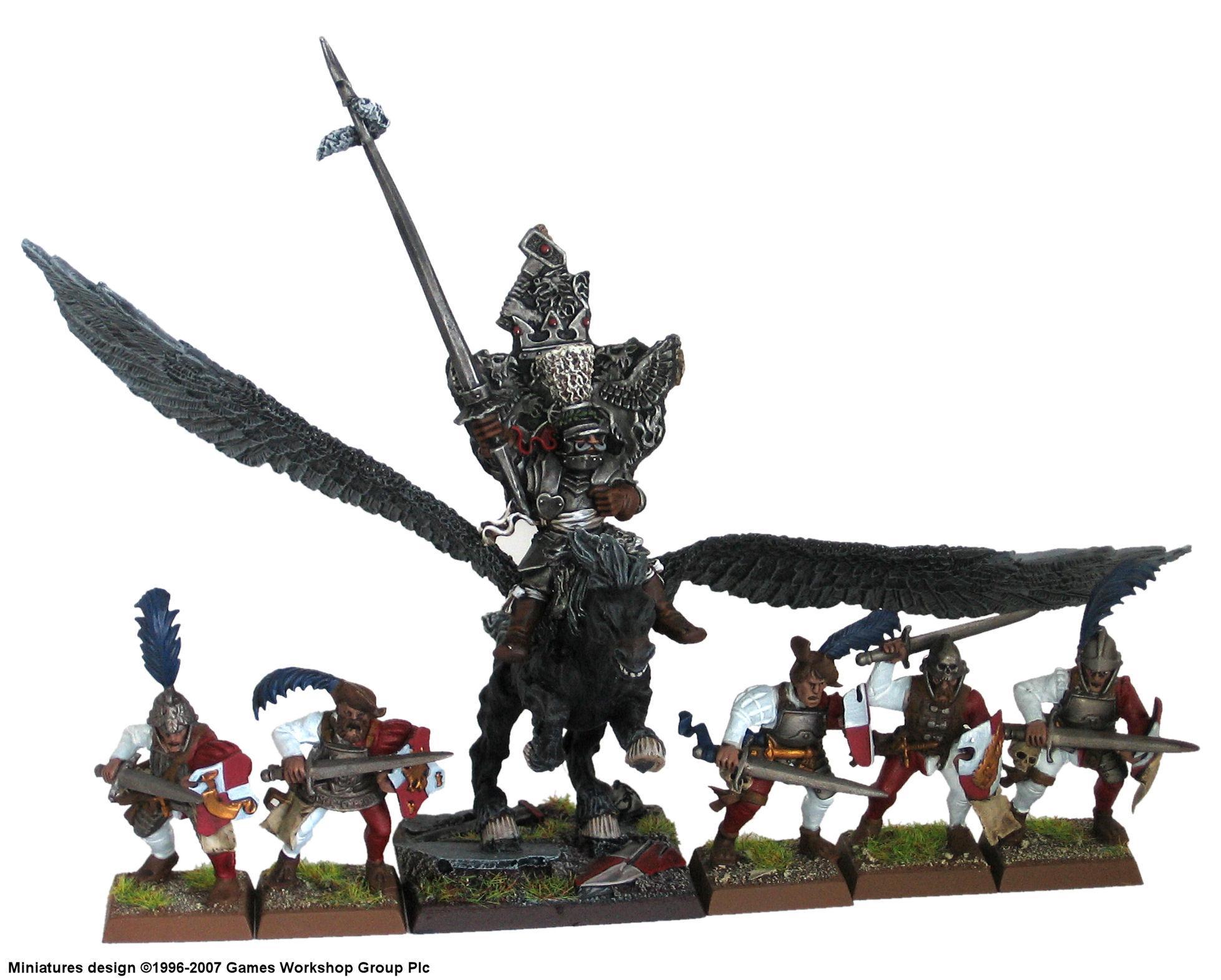 Empire, Knights, Pegasus, Swordsmen, Talabheim, Warhammer Fantasy